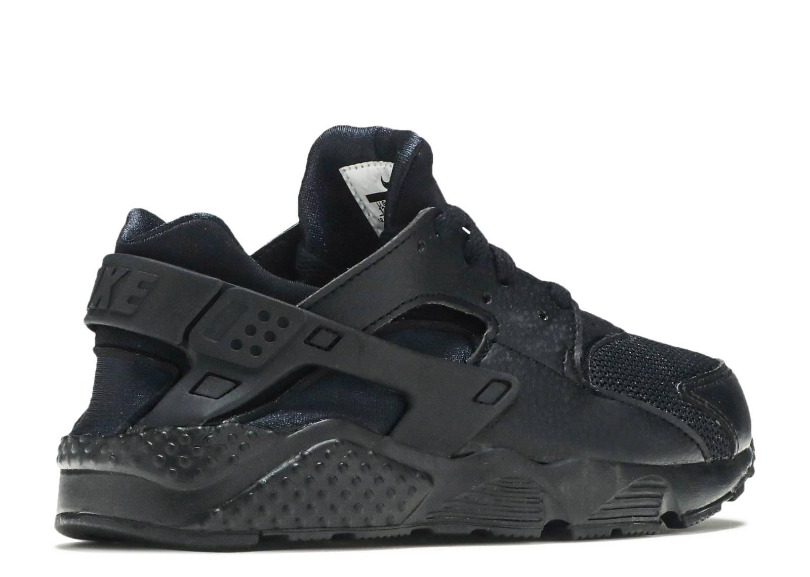 info for 7f206 9c354 Nike Huarache Run Ps - Nike - 704949 016 - black-black-black   Flight Club