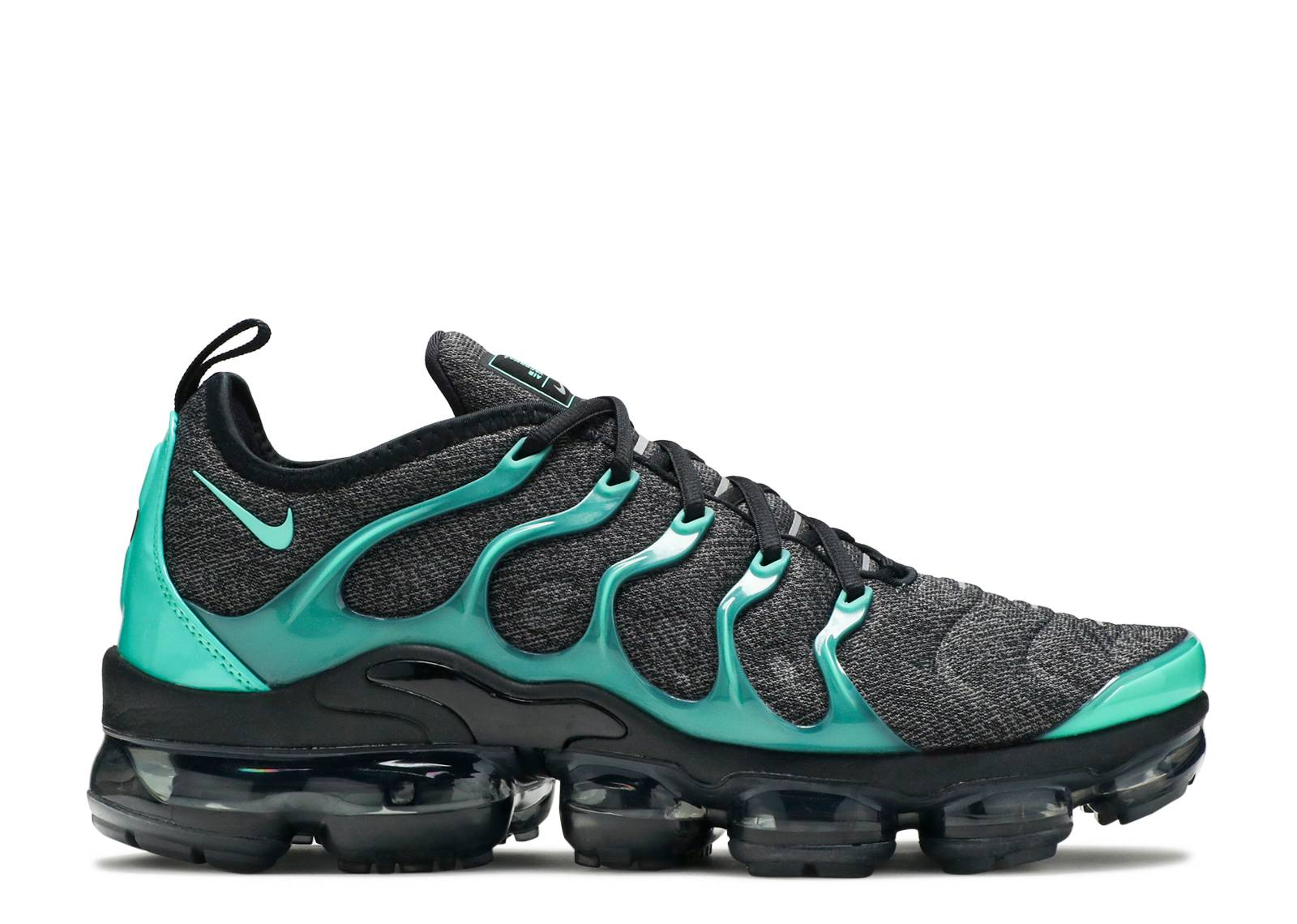 c76553a1c89 Air Vapormax Plus - Nike - 924453 013 - black clear emerald-cool ...