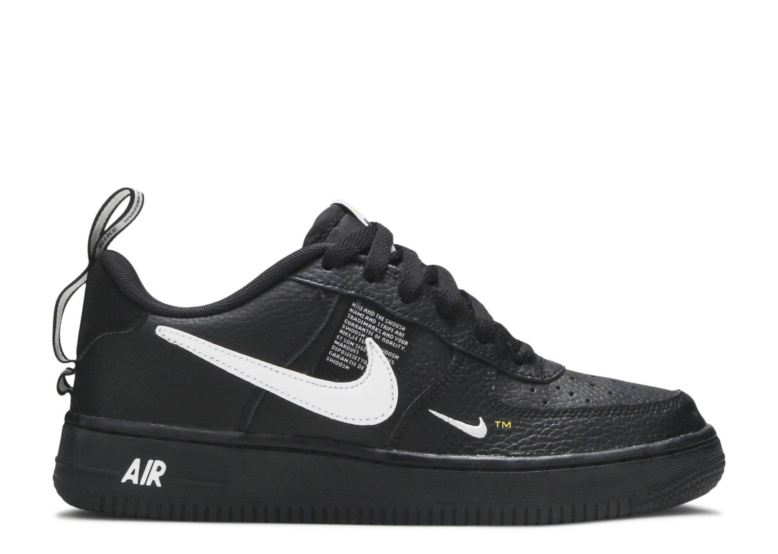 Air Force 1 Lv8 Utility (gs) - Nike - ar1708 001 - black white-black ... e8a66d0db