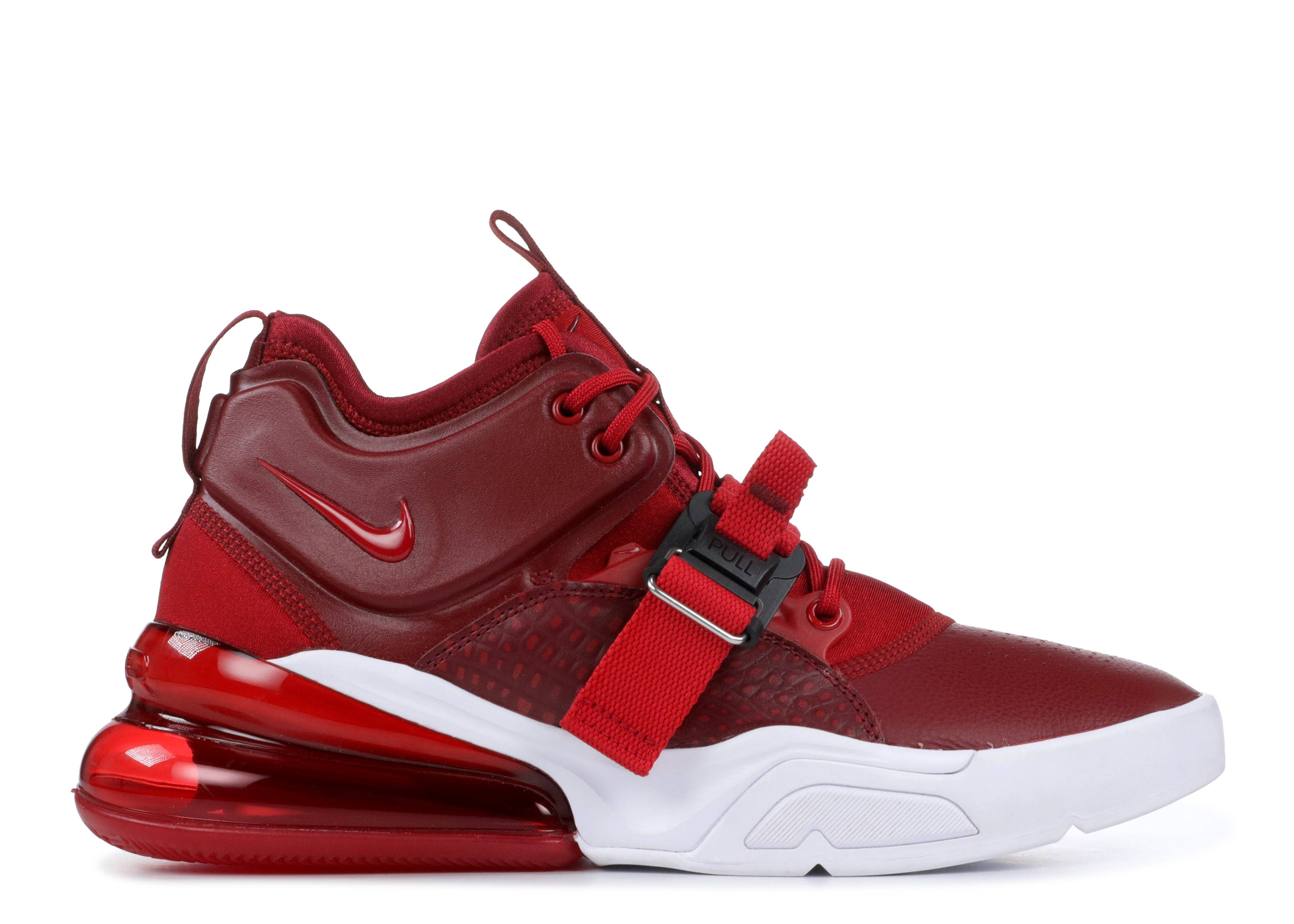 Nike Air Force 270 red Croc Nike ah6772 600 team red