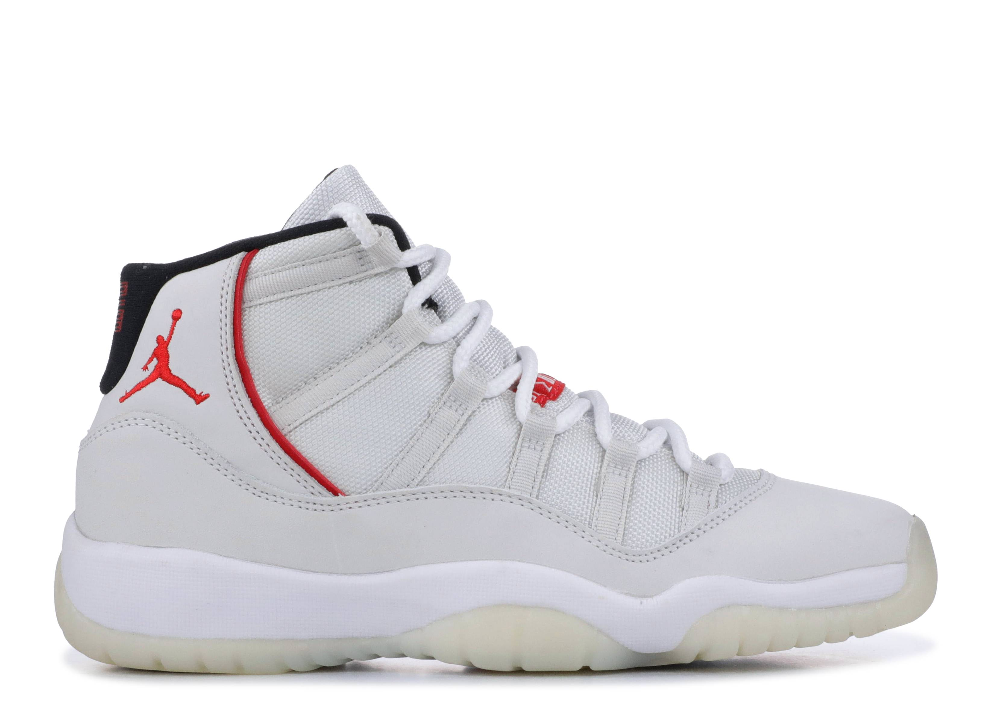 "air jordan 11 retro (gs) ""platinum tint"""