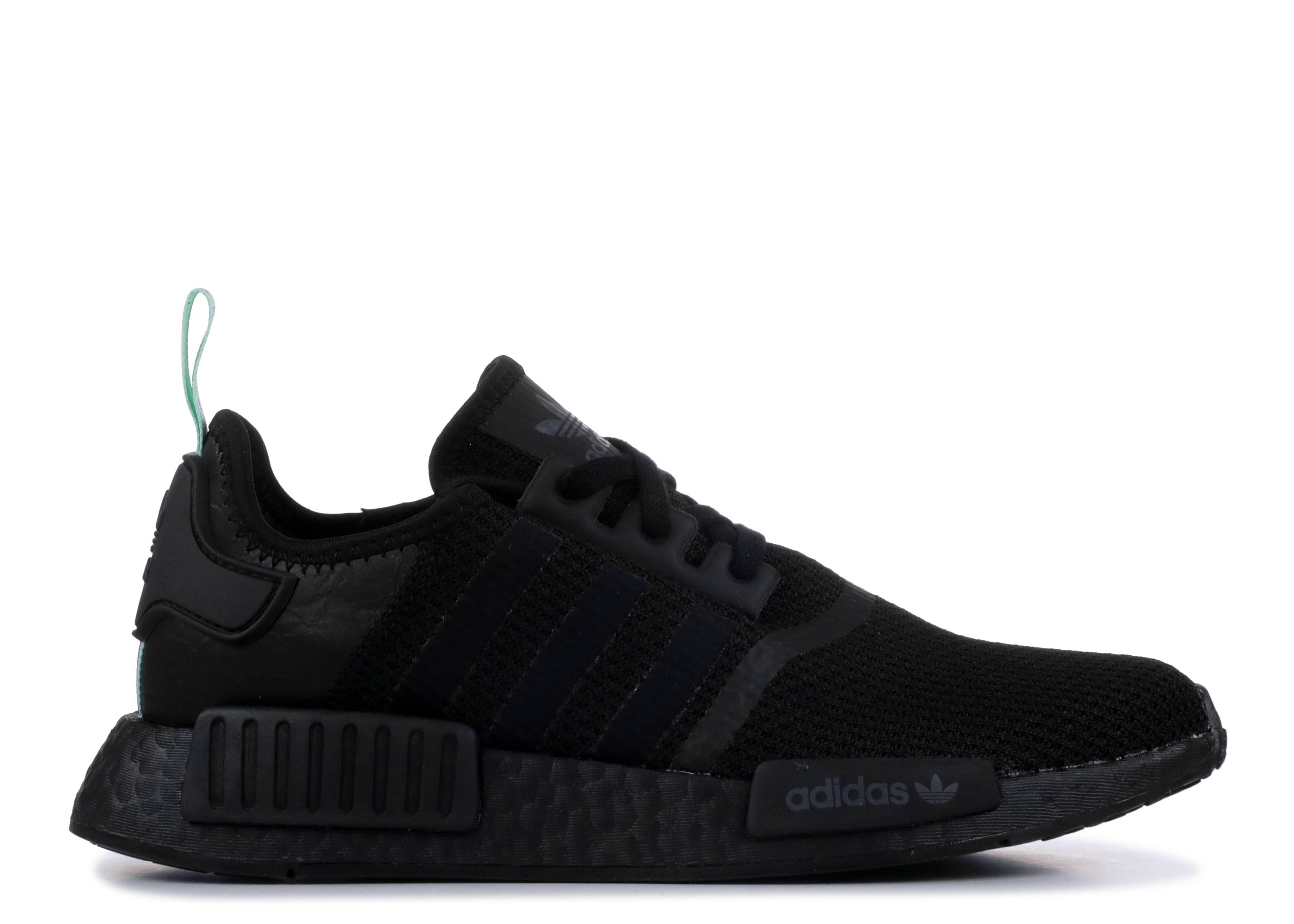 Nmd R1 W - Adidas - aq1102 - black mint green  6f09a7cb5