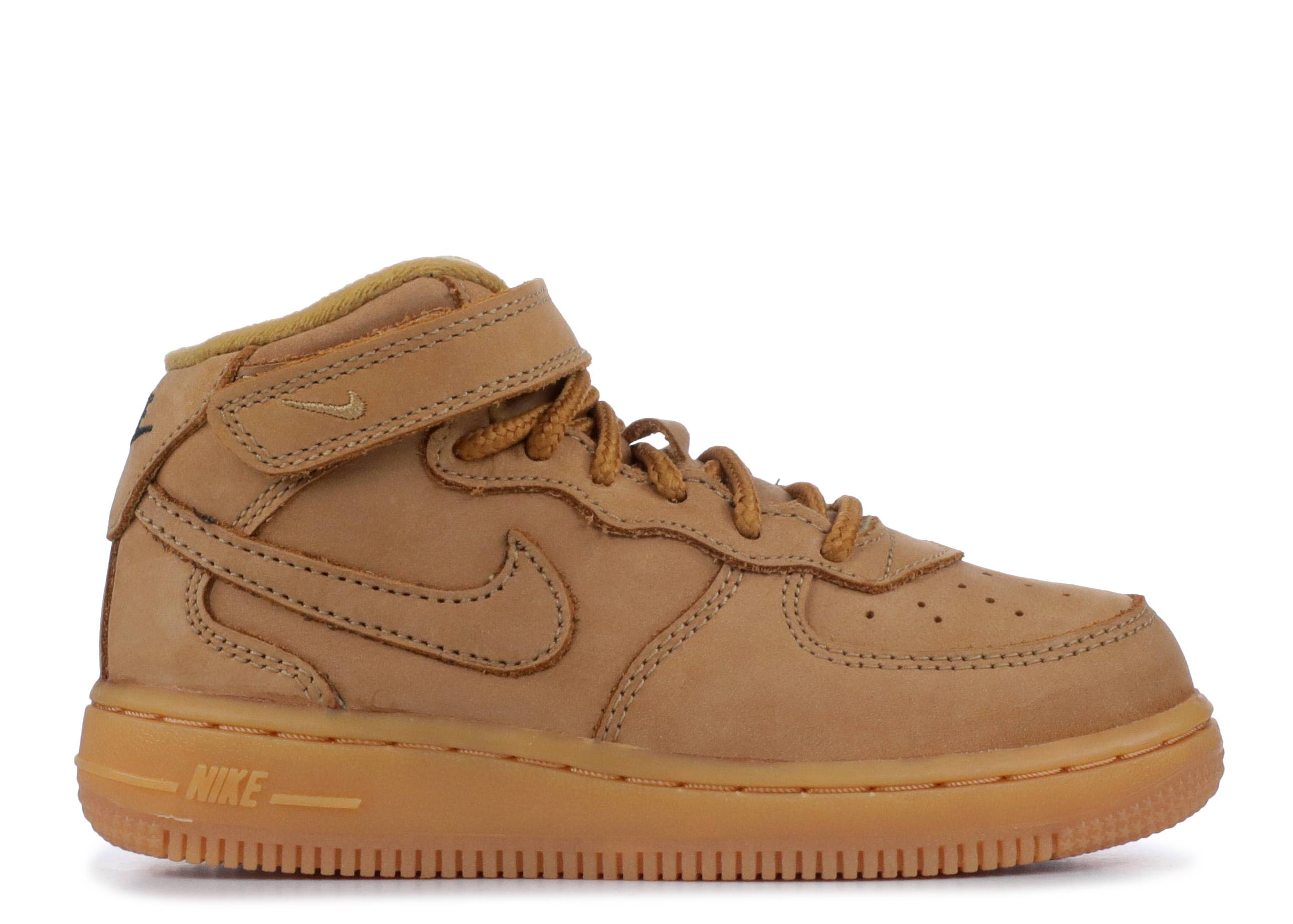 Nike Air Force 1 Mid '07 Wheat Flax Sz 9
