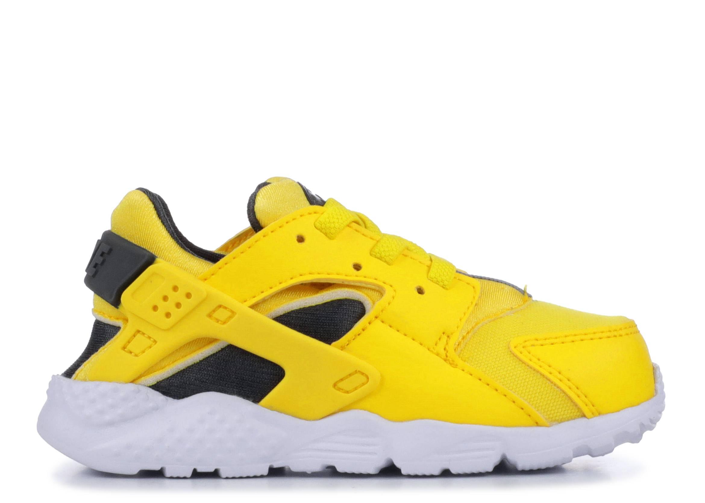 f4c3383ae9a1b Huarache Run (td) - Nike - 704950 700 - tour yellow anthracite-white ...