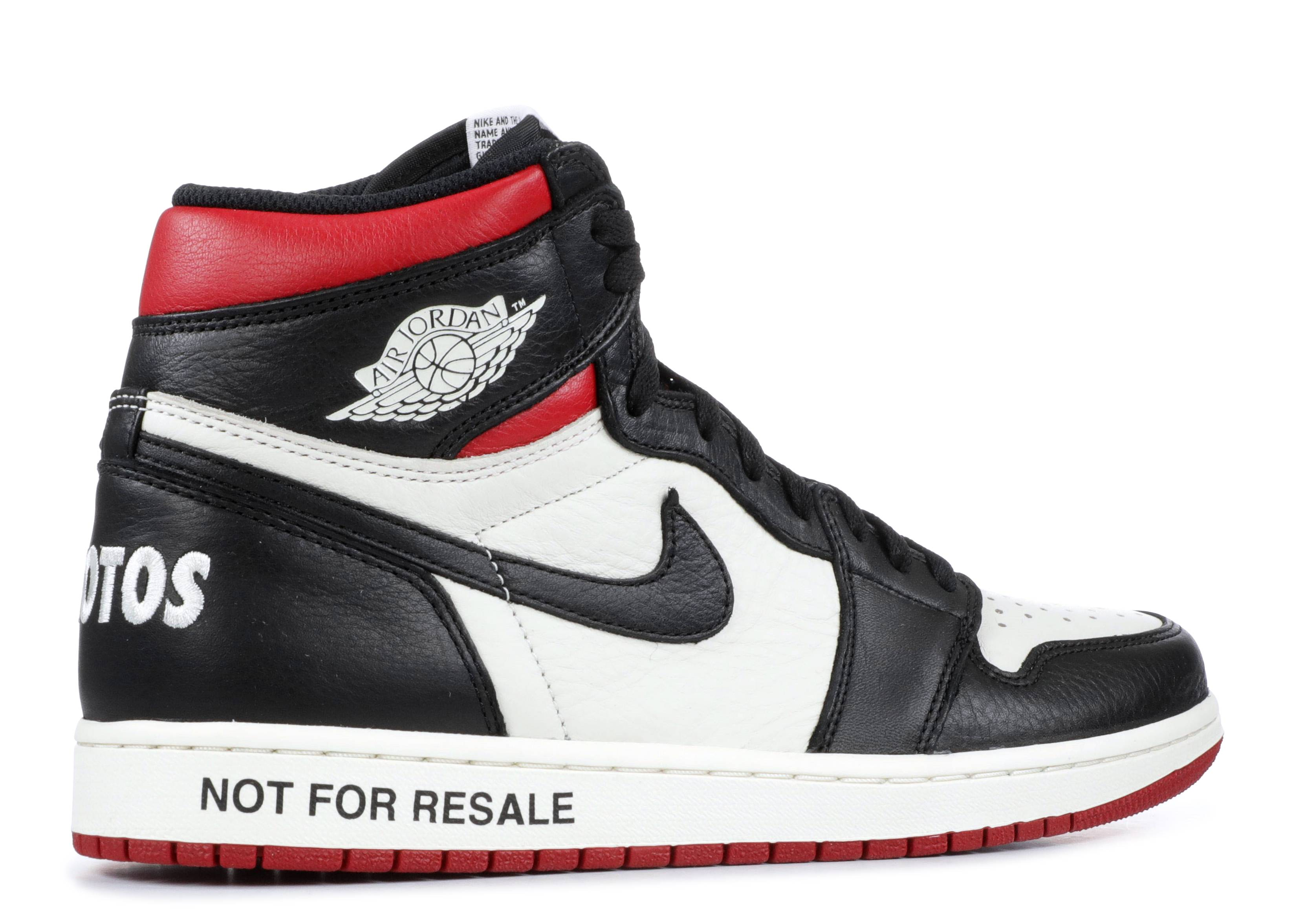 Jordan 1 Not For Resale Red + Yellow Release Info