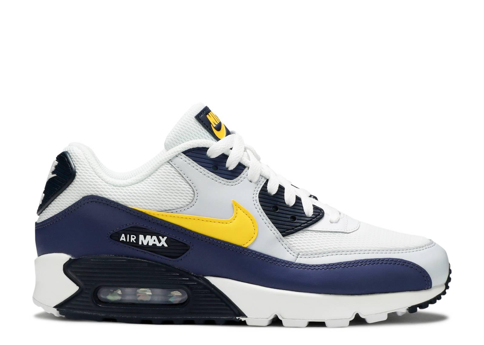 7366aab6ad1f Nike Air Max 90 Essential - Nike - aj1285 101 - white tour yellow ...