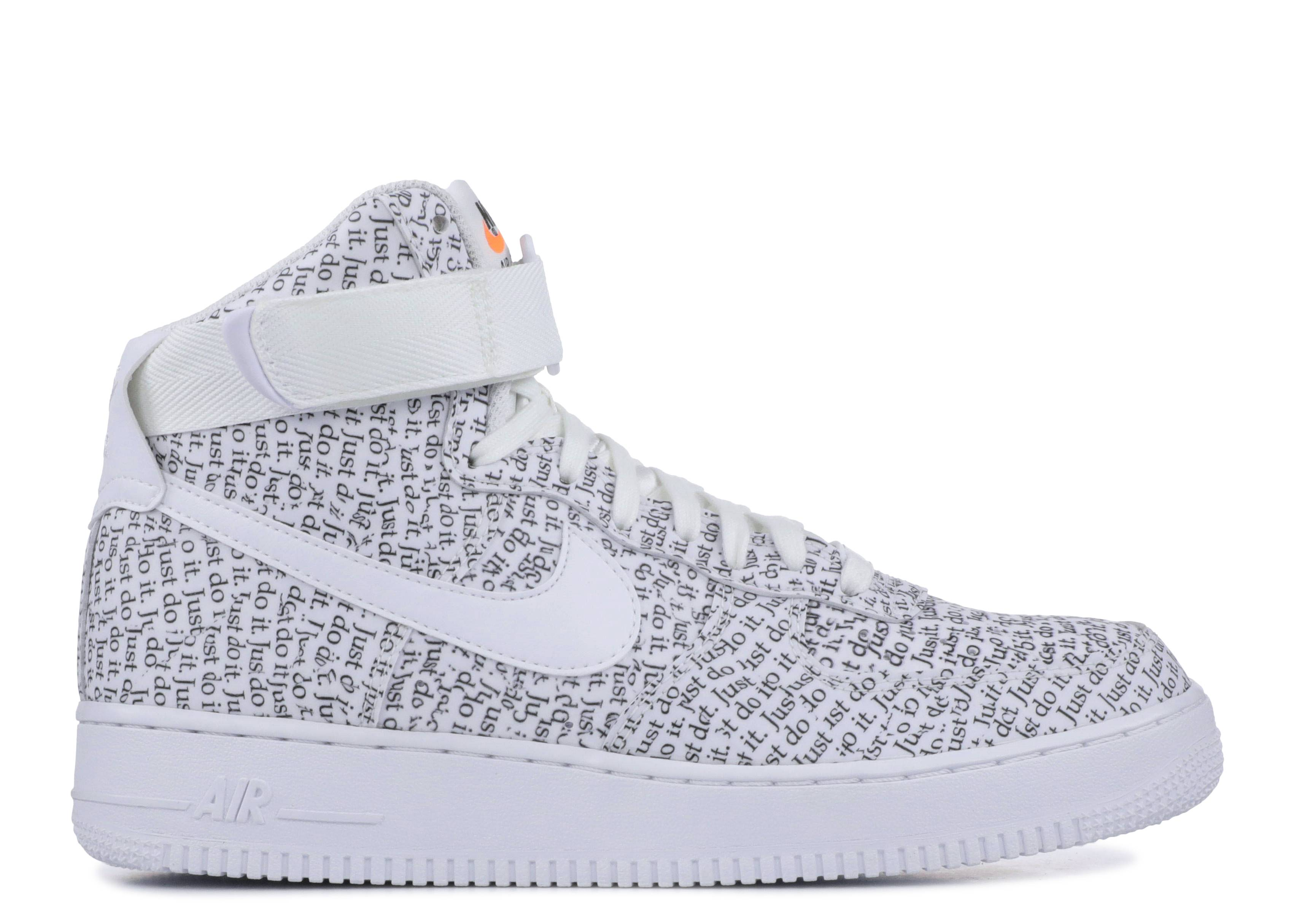 sale retailer d31c2 d0dc5 Air Force 1 High '07 LV8 'Just Do It'
