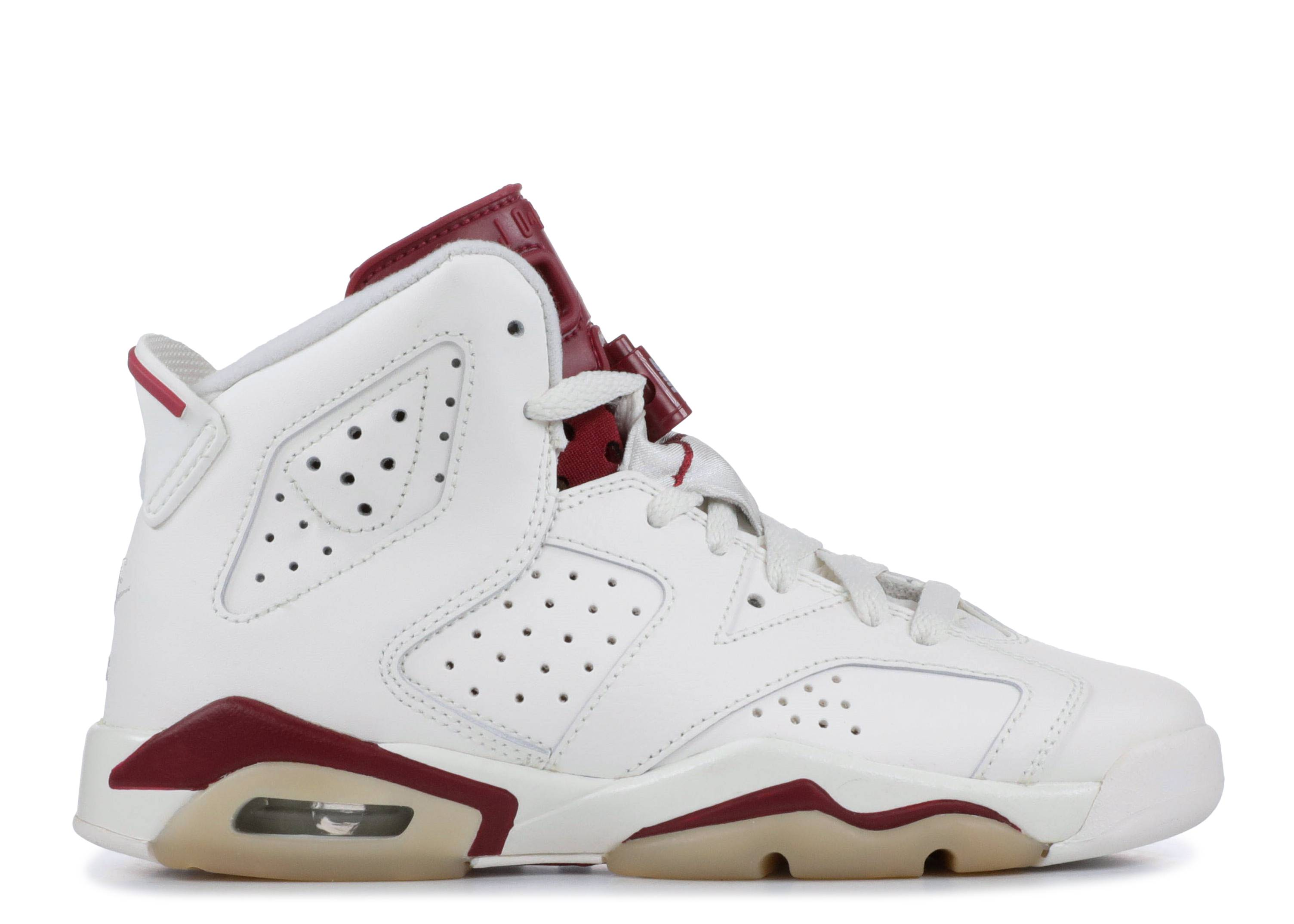 "air jordan 6 retro bg ""maroon"""