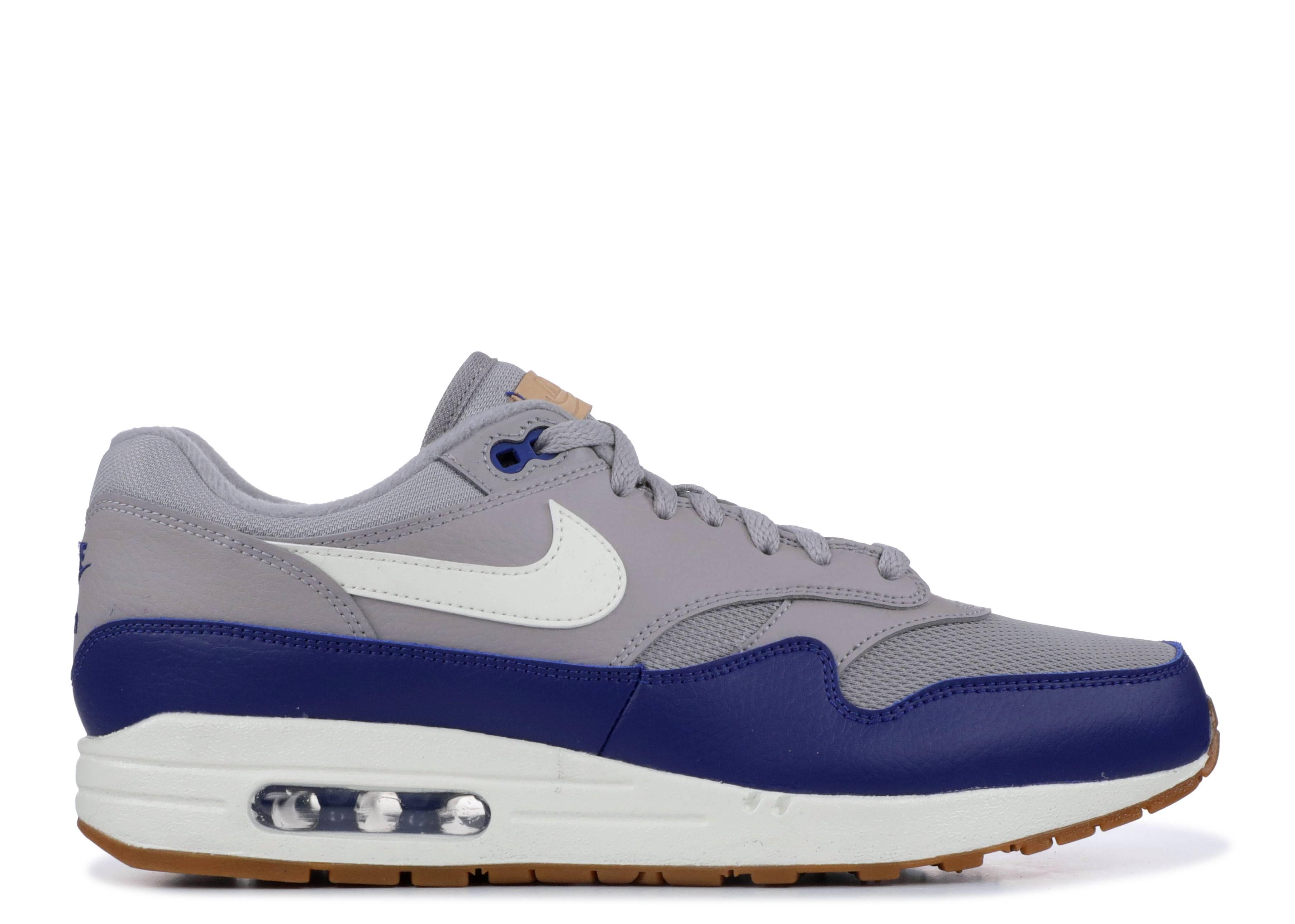 nike air max one grey blue