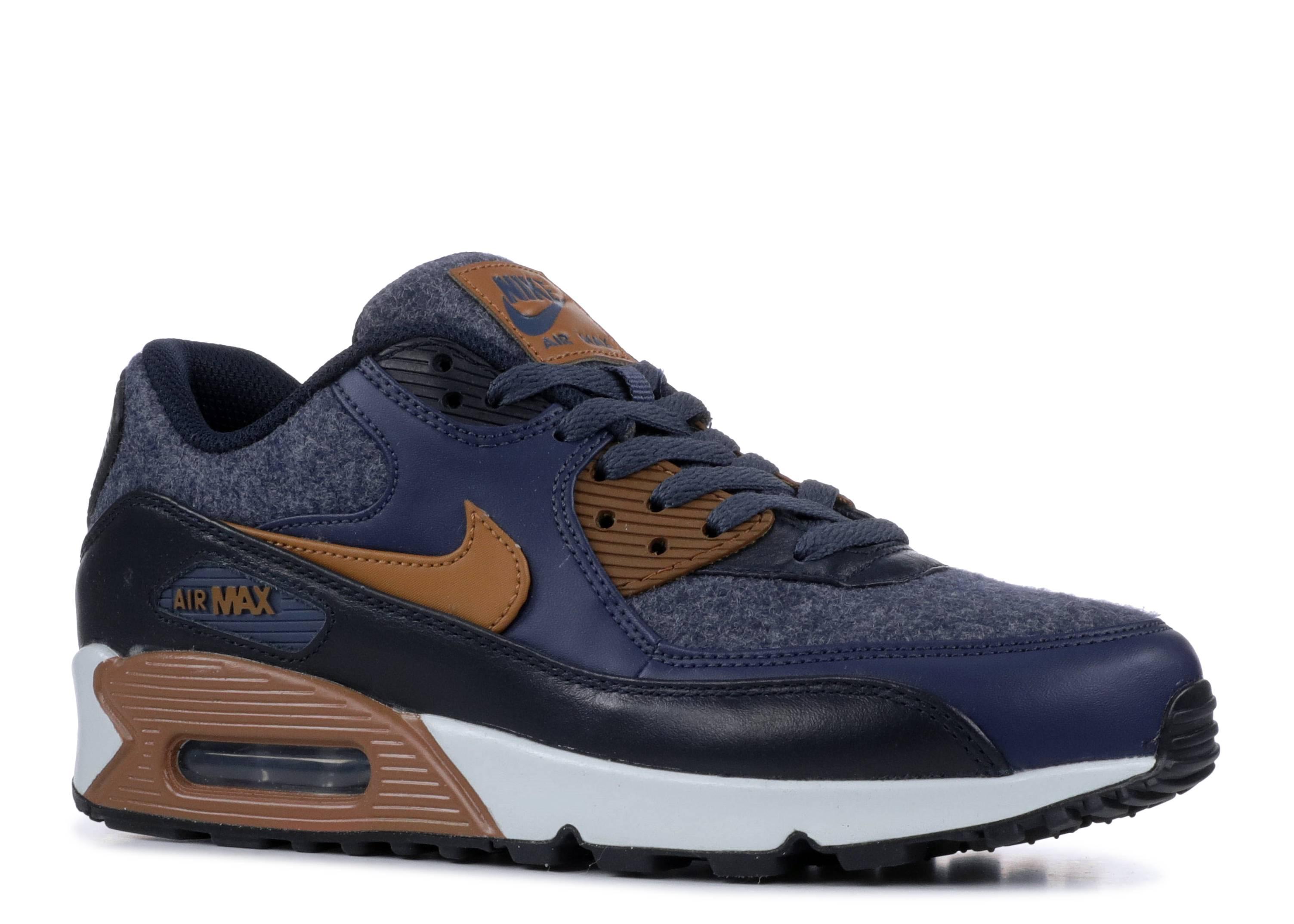 Nike Air Max 90 Premium 700155 404 Thunder BlueAle Brown