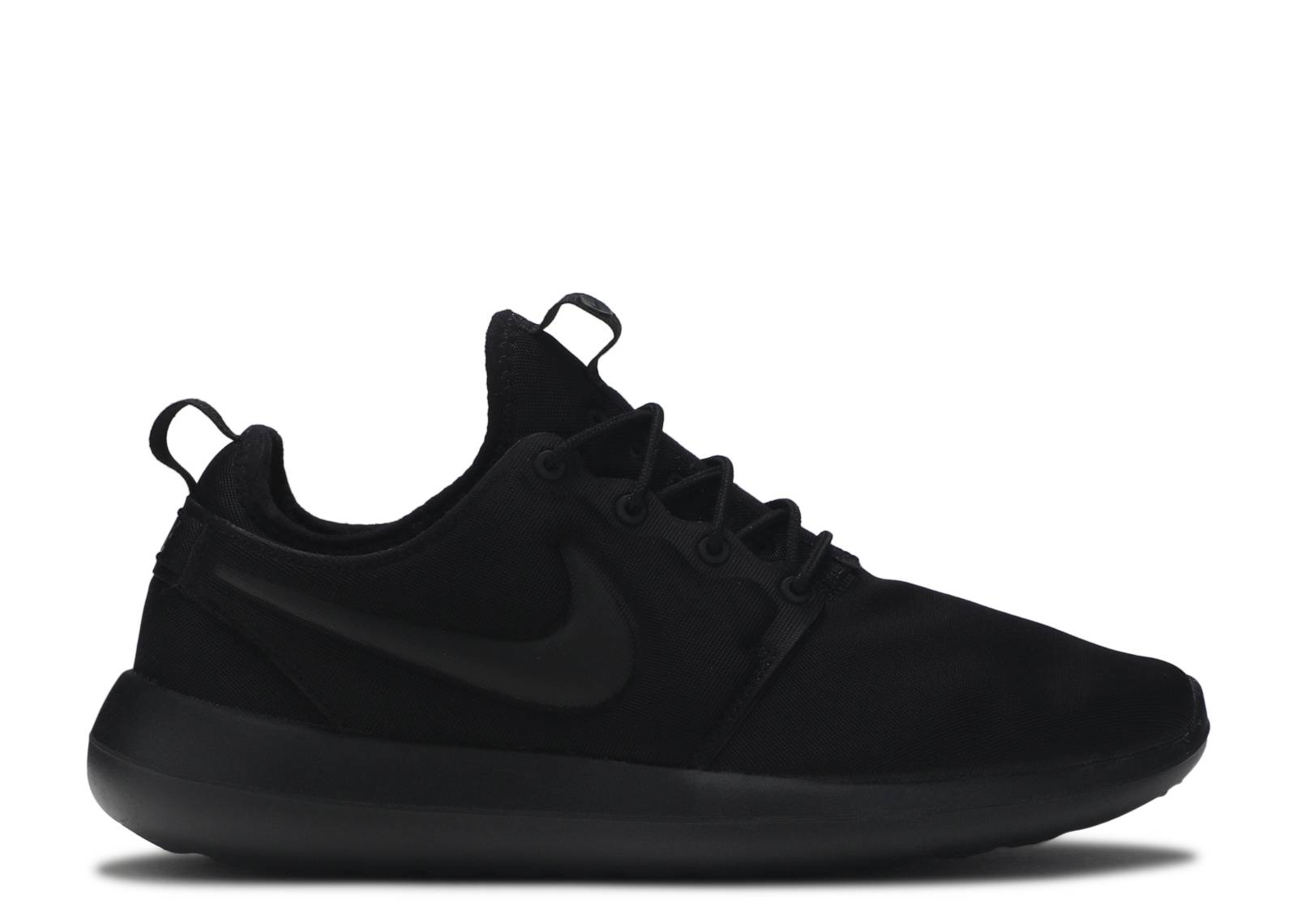 "nike roshe two ""tripe black"""