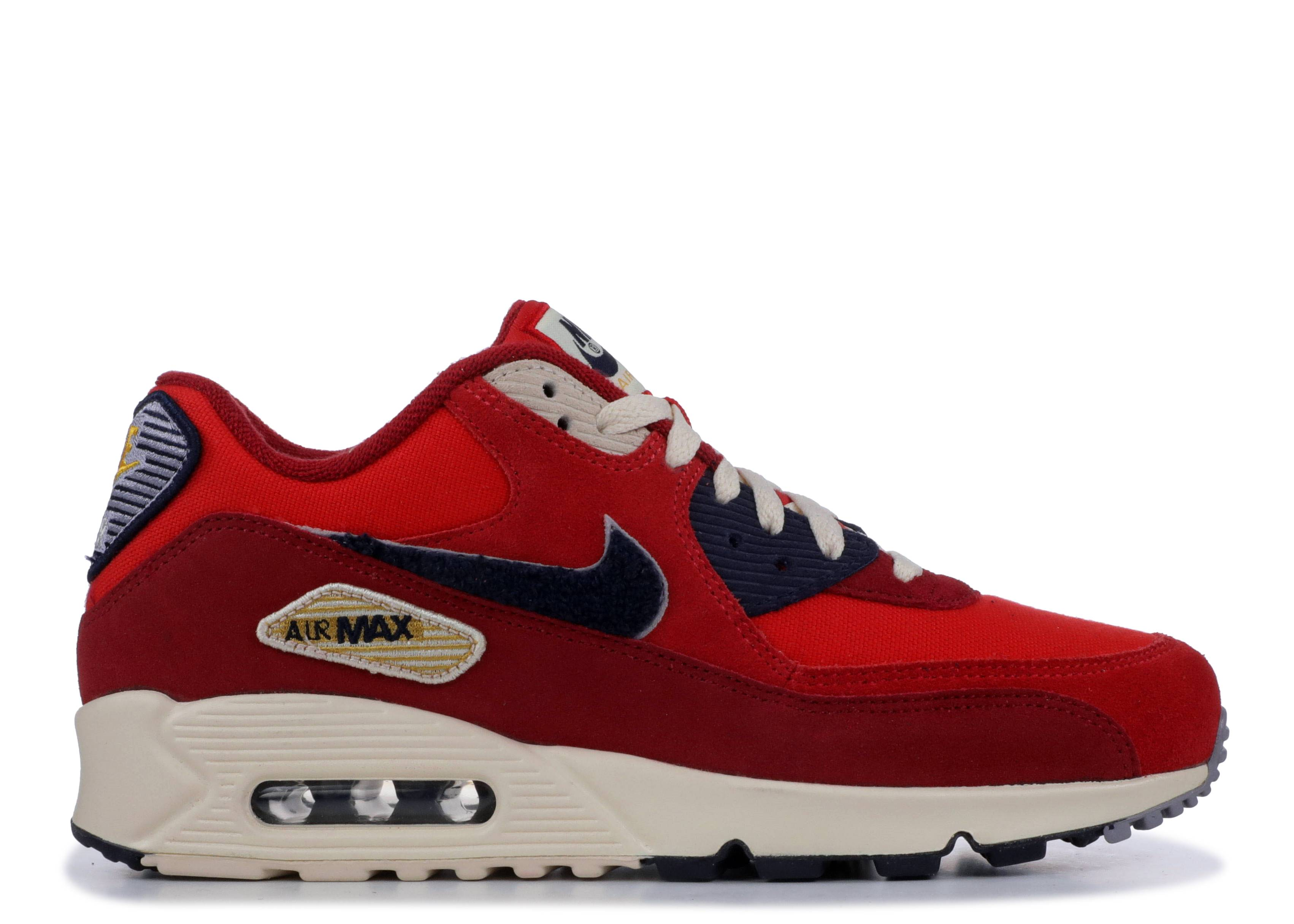 the latest 81afc 5b96a Nike Air Max 90 Premium - Nike - 858954 600 - university red ...