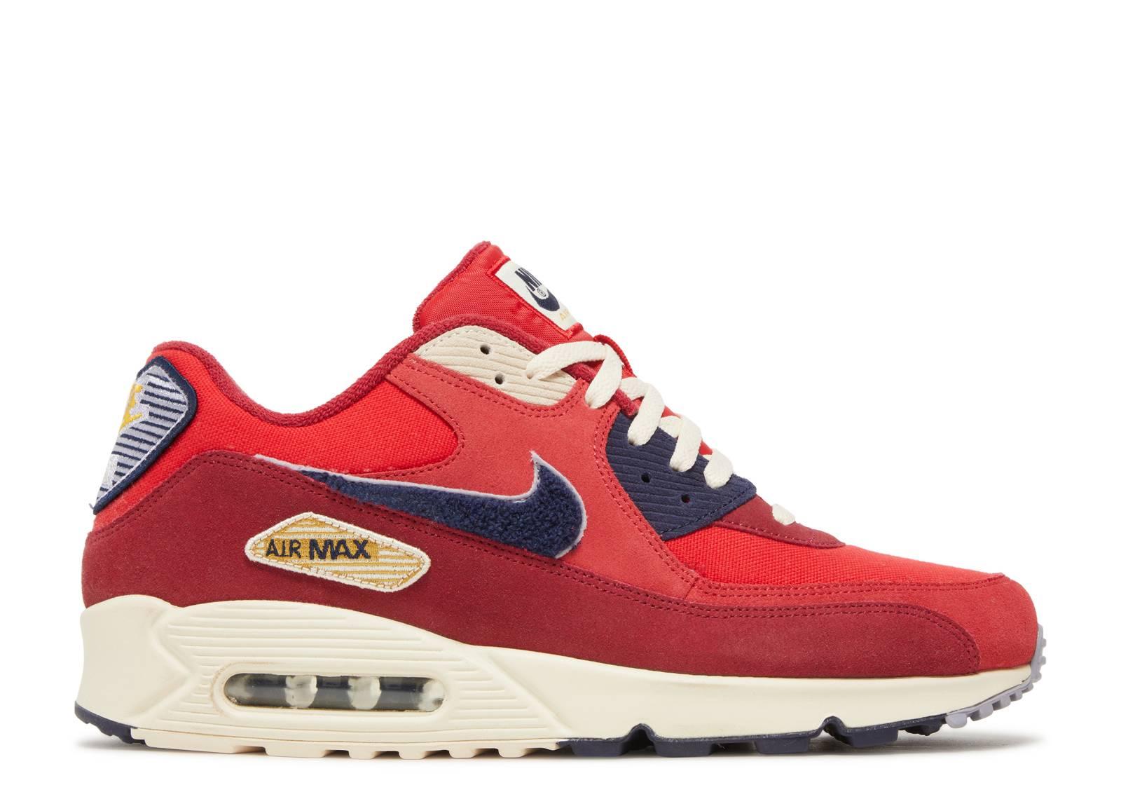 Nike Air Max 90 Premium Nike 858954 600 university red
