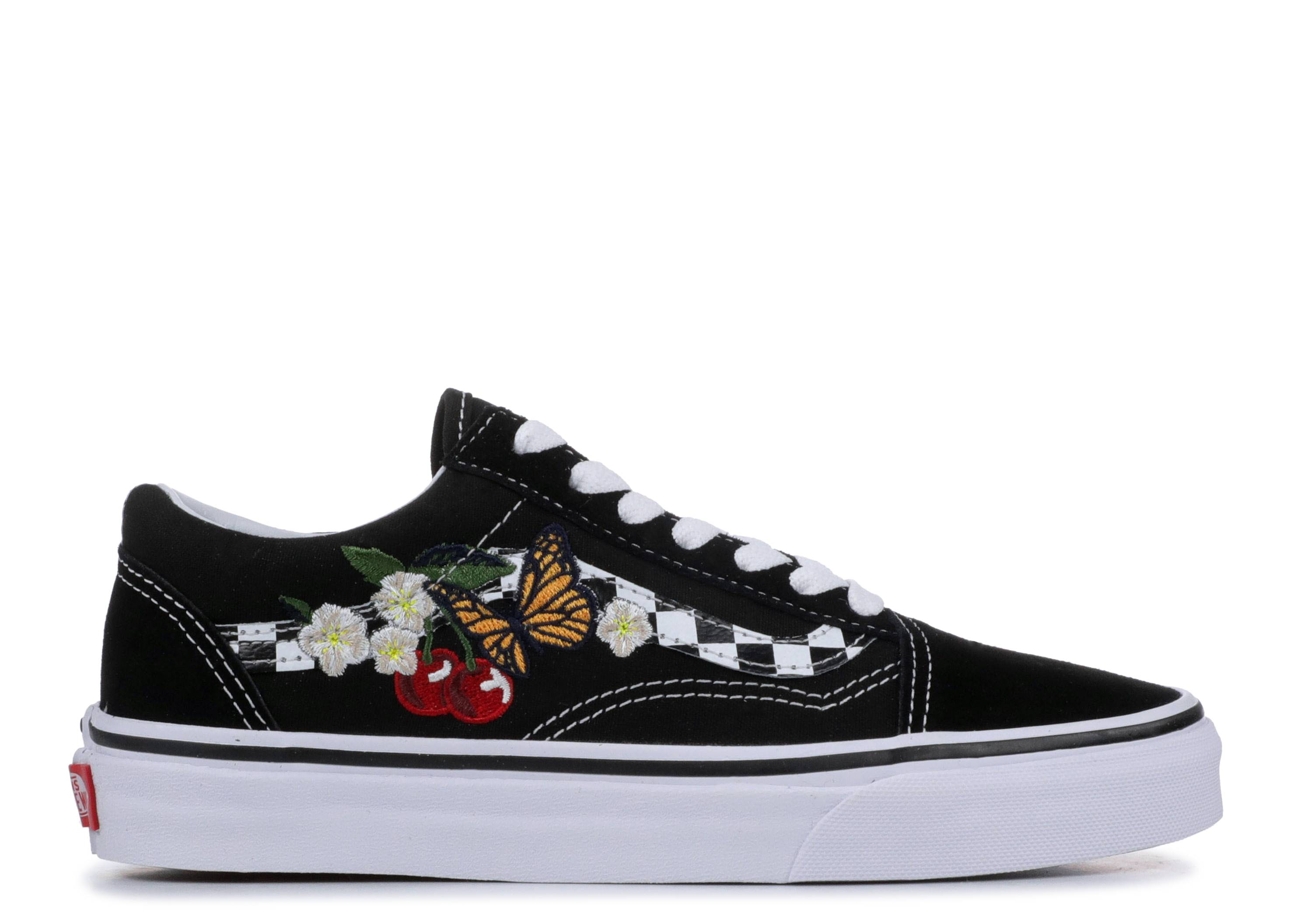 "Old Skool 'Checker Floral' ""Checker Floral"""
