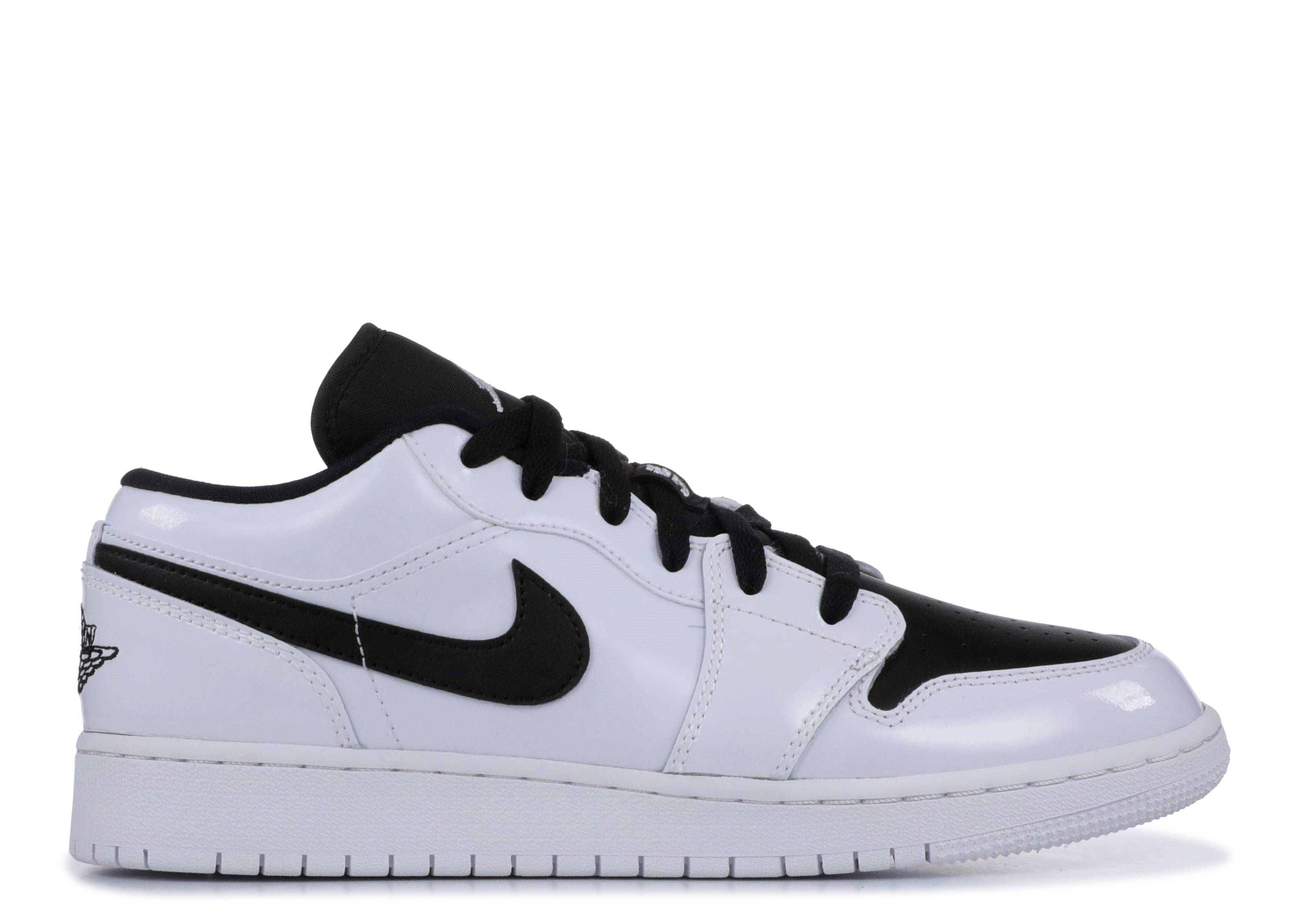 "air jordan 1 low bg ""White Black"""
