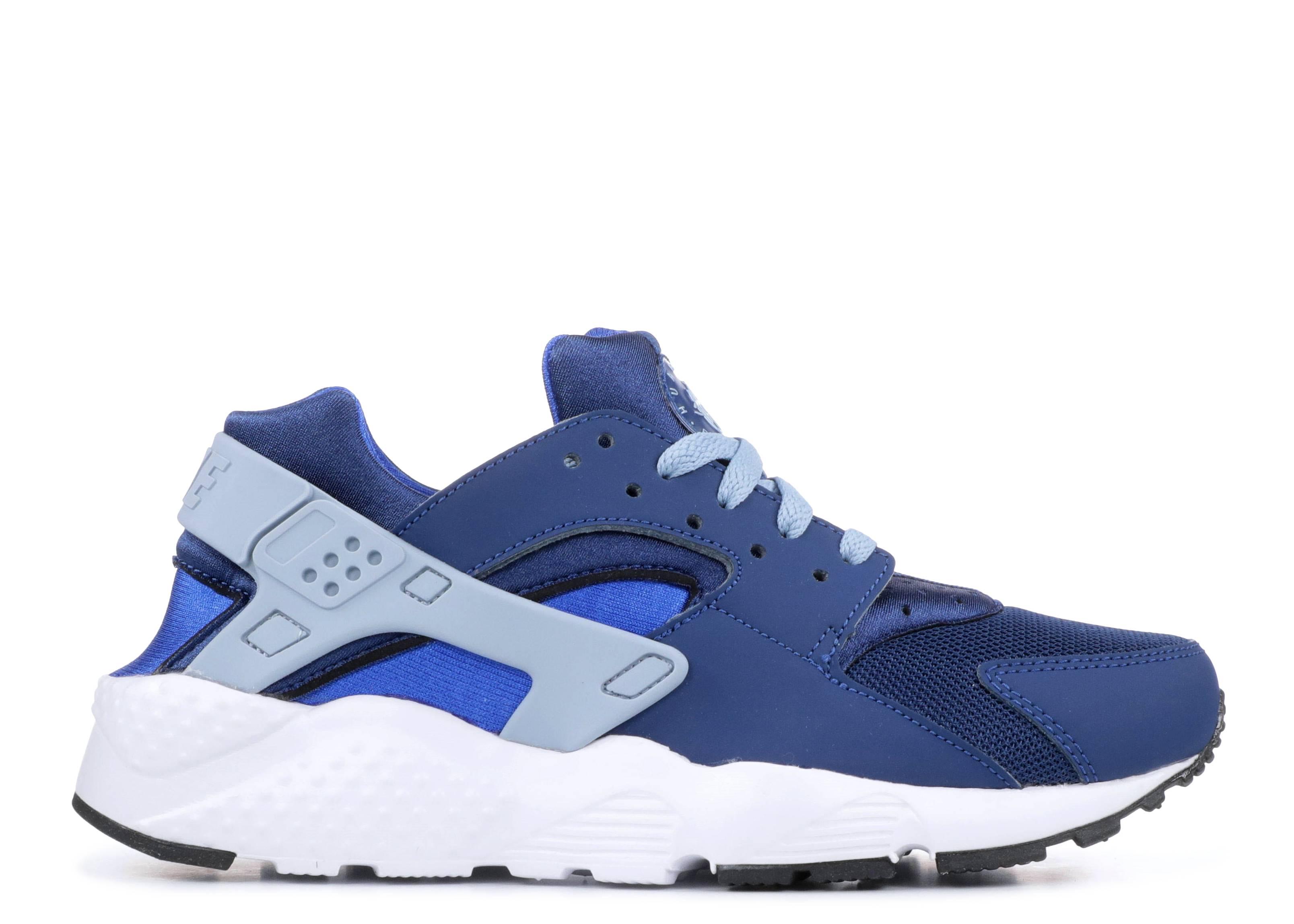 olcsó eladó speciális értékesítés jó minőségű Nike Huarache Run Gs - Nike - 654275 406 - coastal blue/blue grey ...