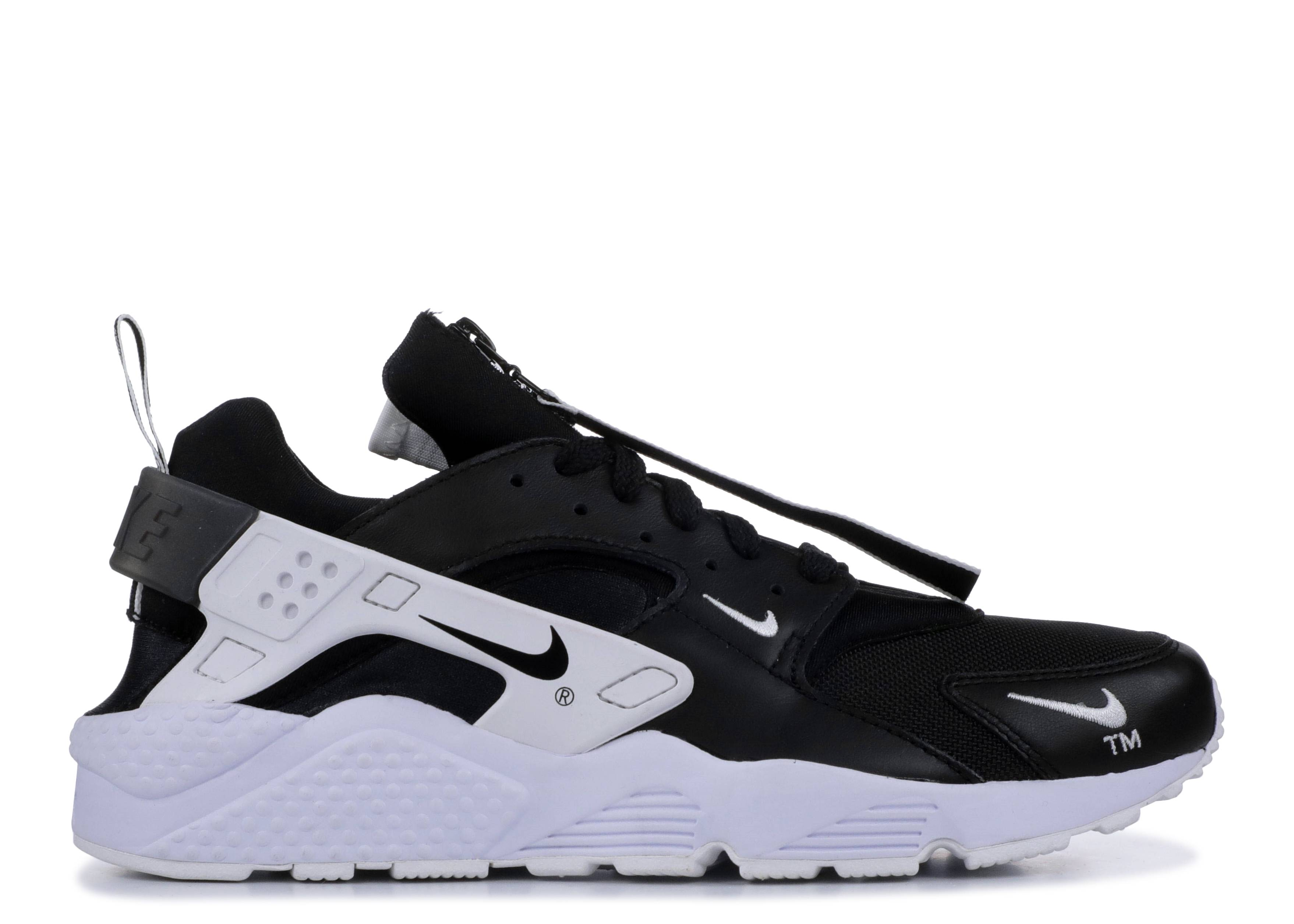 73614744faa6 Nike Air Huarache Run Prm Zip - Nike - ar0785 001 - black black ...