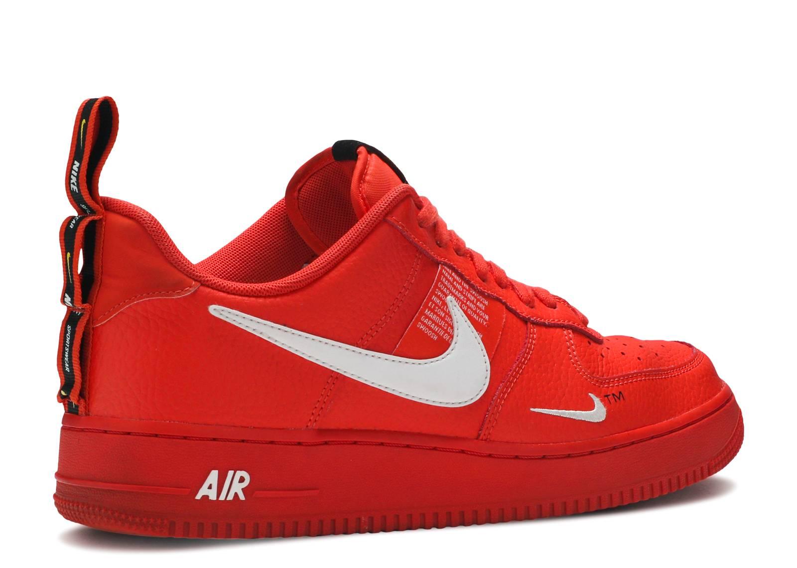 878c420089b Air Force 1  07 Lv8 Utility - Nike - aj7747 800 - team orange white-black