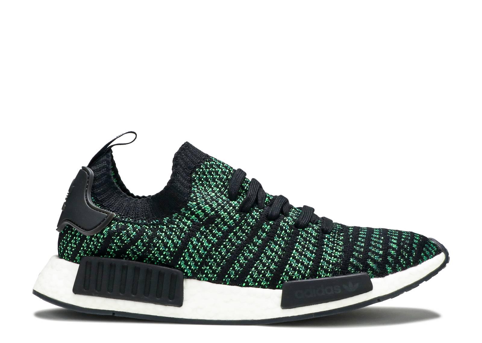 da1700d34961b Nmd R1 Stlt Pk - Adidas - aq0936 - black noble green  bold green ...