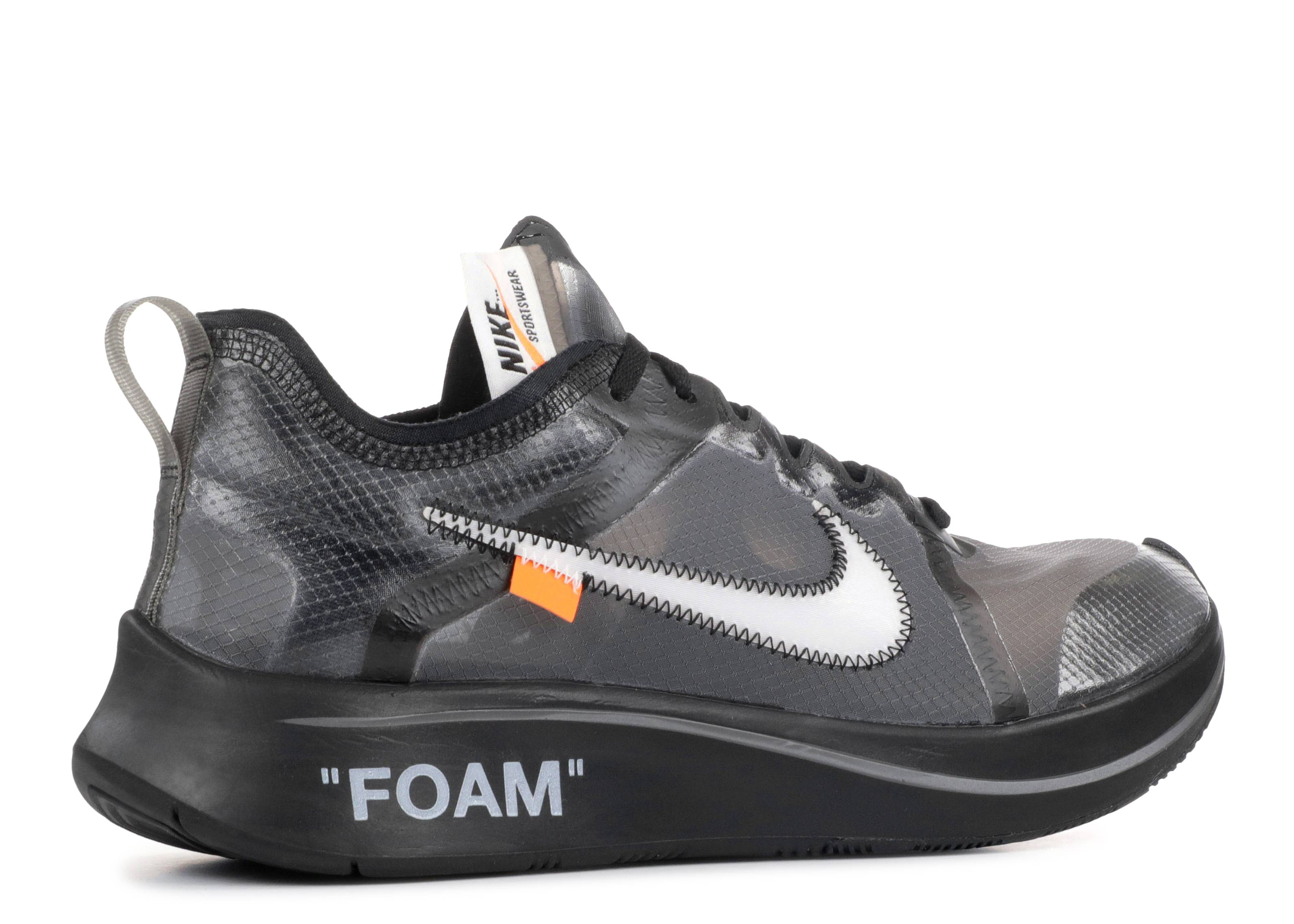 Nike The 10 Zoom Fly 'off White' AJ4588 100: Amazon.it