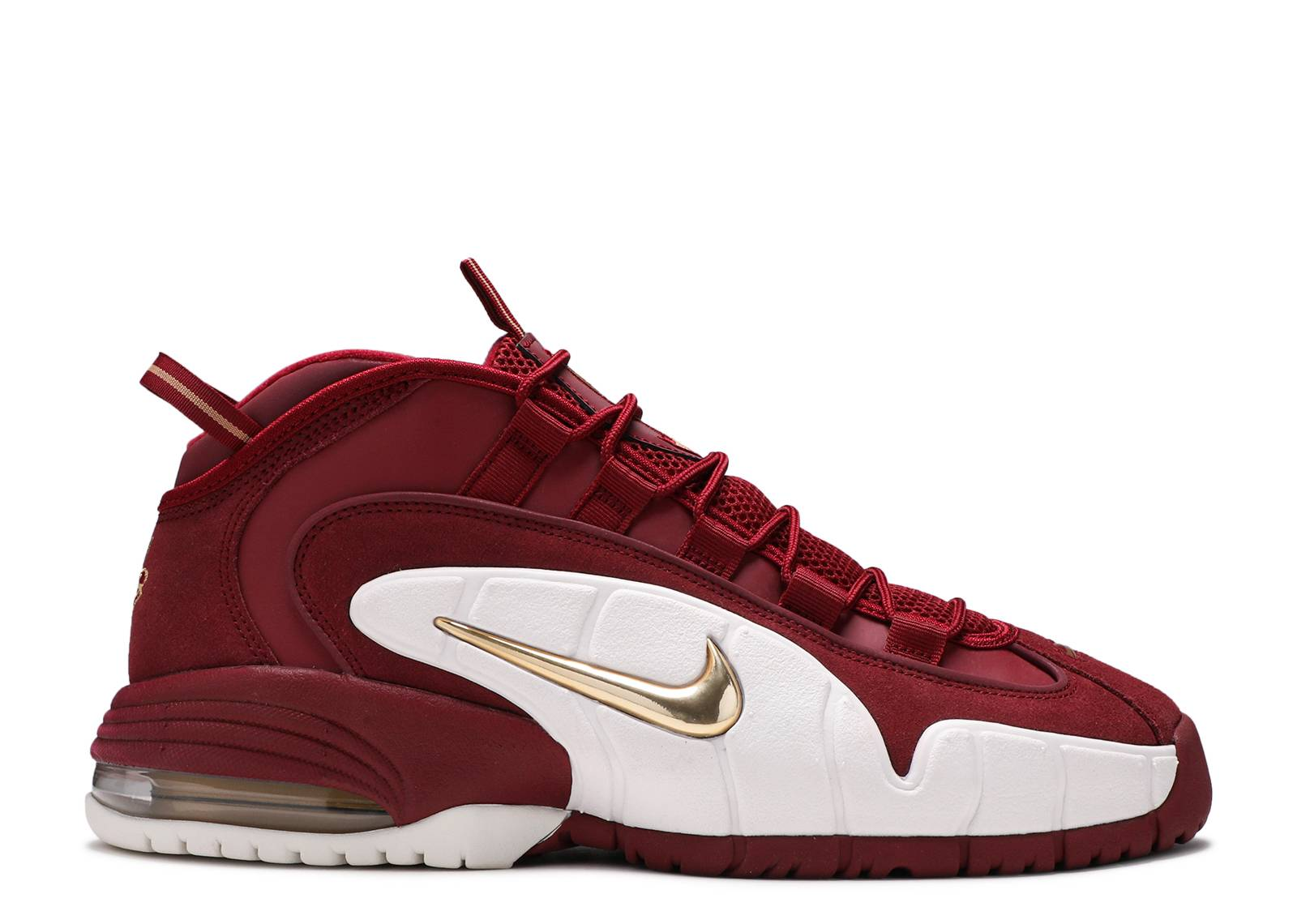 save off faa70 adaf1 Air Max Penny - Nike - 685153 601 - team red metallic gold   Flight Club