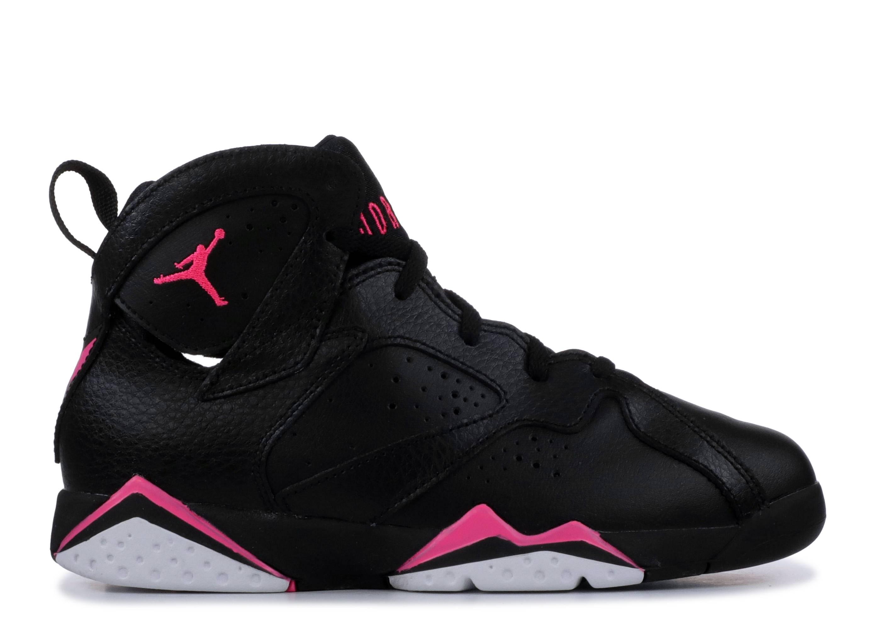 0e66e10fd582ea Jordan 7 Retro Gp - Air Jordan - 442961 018 - black hyper pink hyper ...