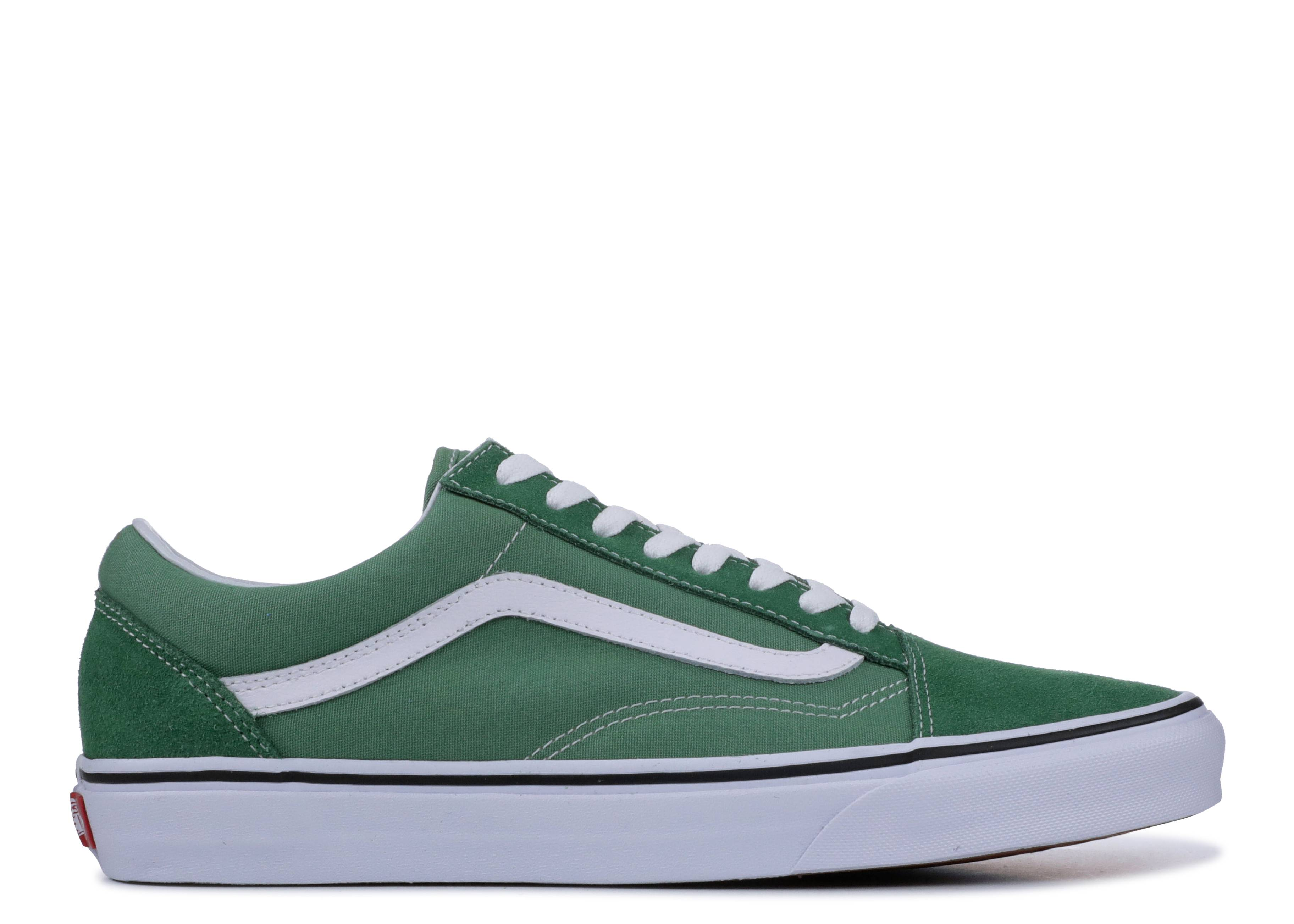 VANS OLD SKOOL Grass GreenTrue White Men's Size 6 9 New in