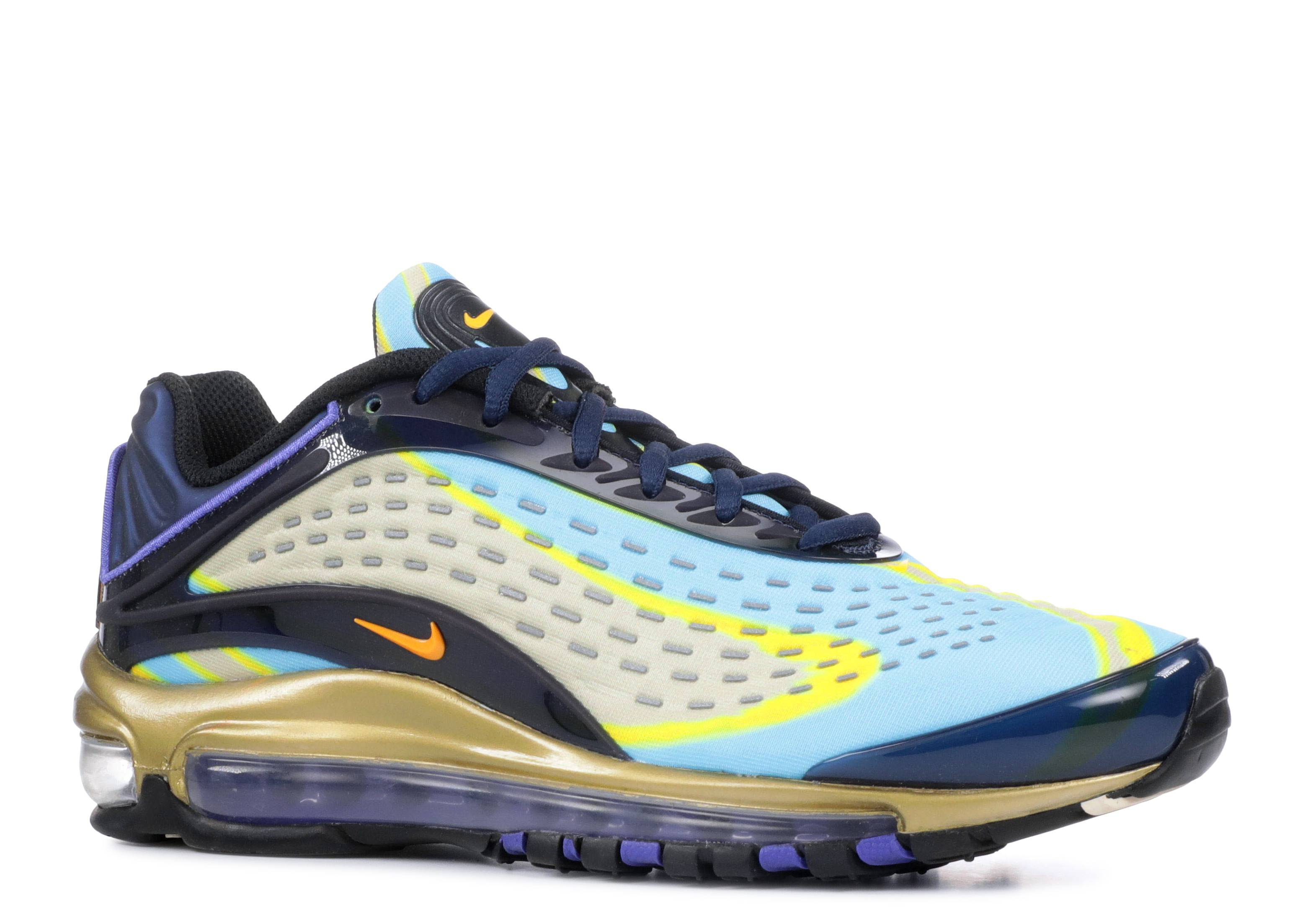 239b3c959c Nike Air Max Deluxe (gs) - Nike - ar0115 401 - midnight navy/ laser orange    Flight Club