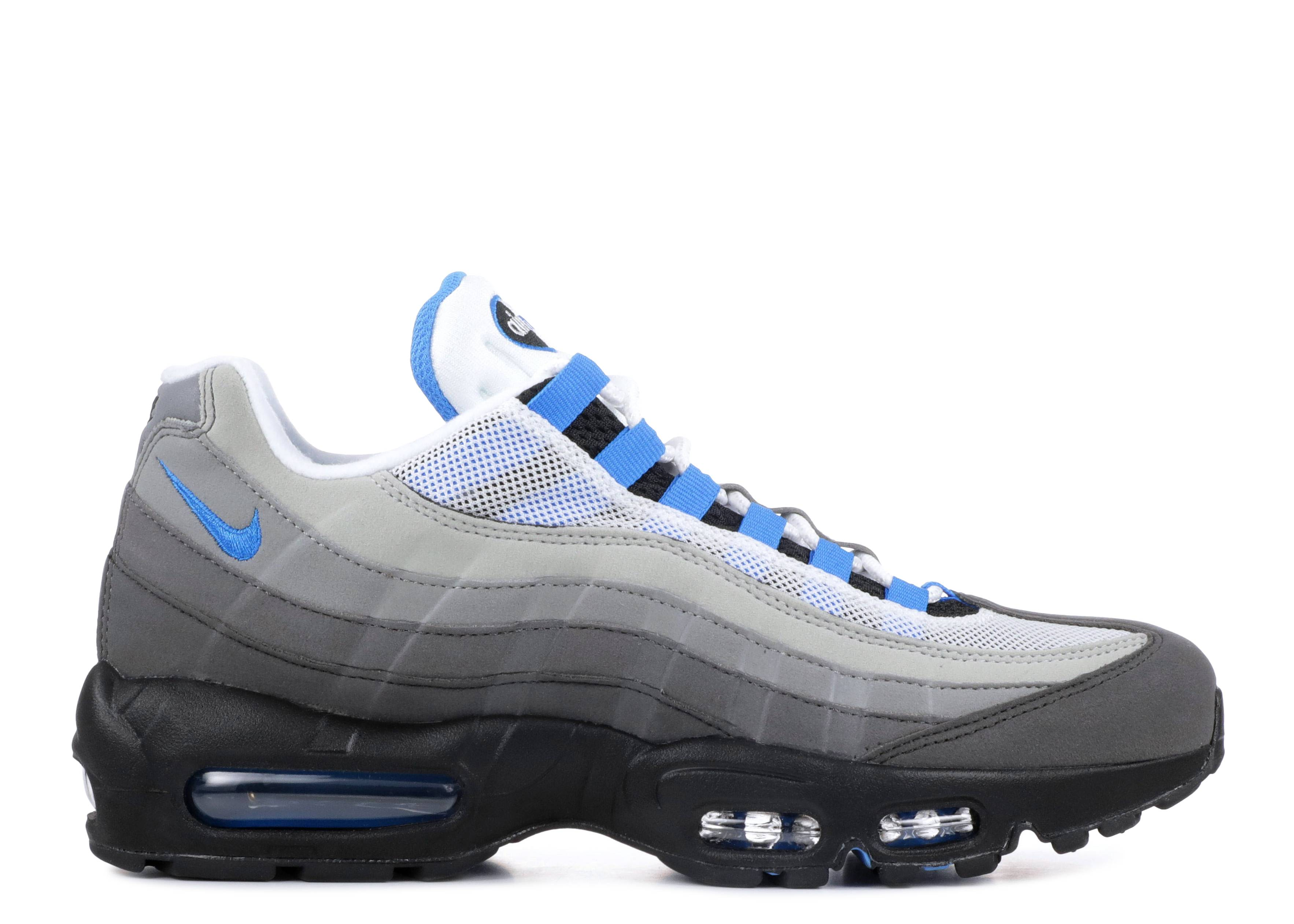 88ddc200b6 Air Max '95 - Nike - at8696 100 - white/crystal blue | Flight Club