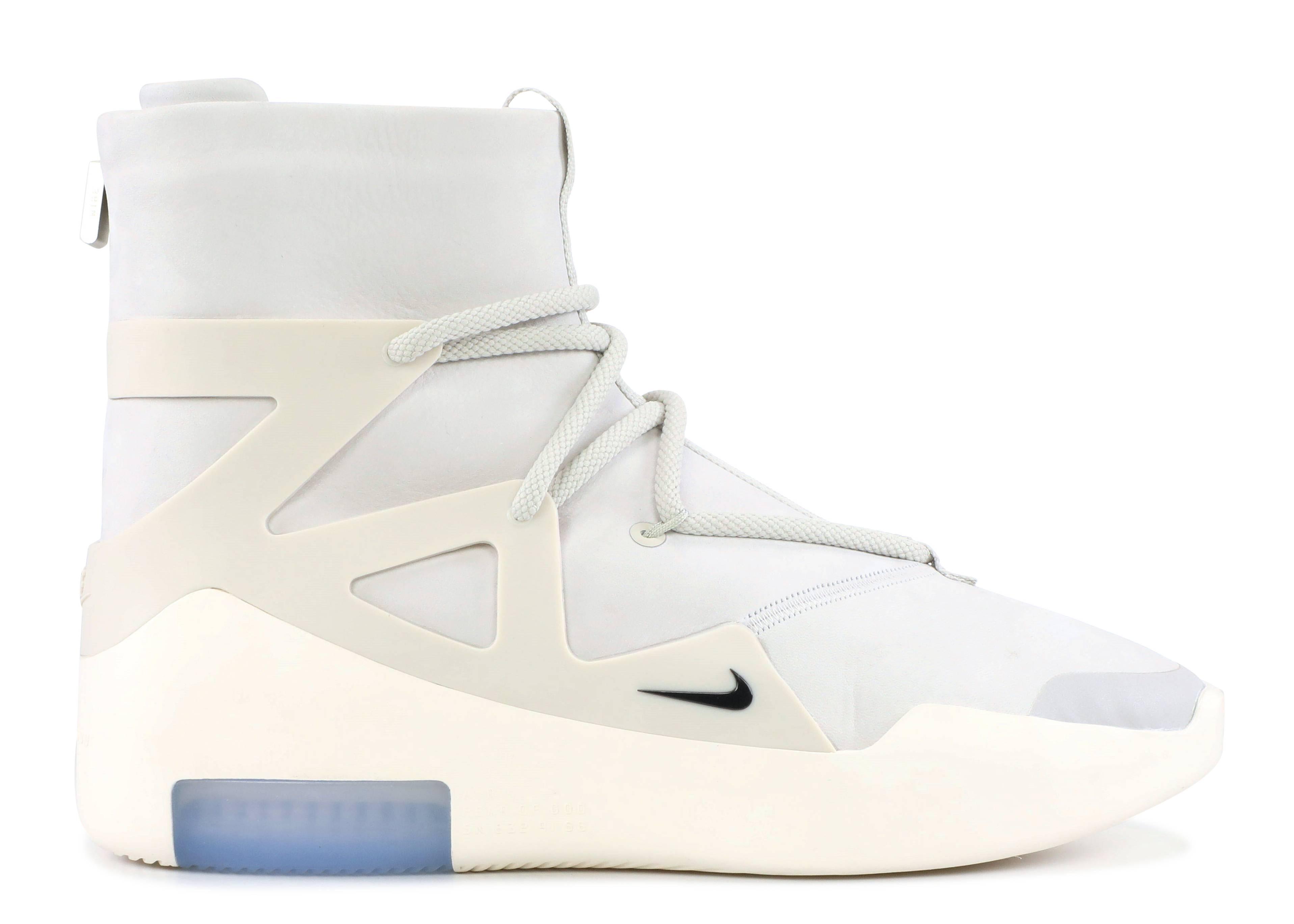 Nike Air Fear Of God 1 'Light BoneBlack' AR4237 002 Release