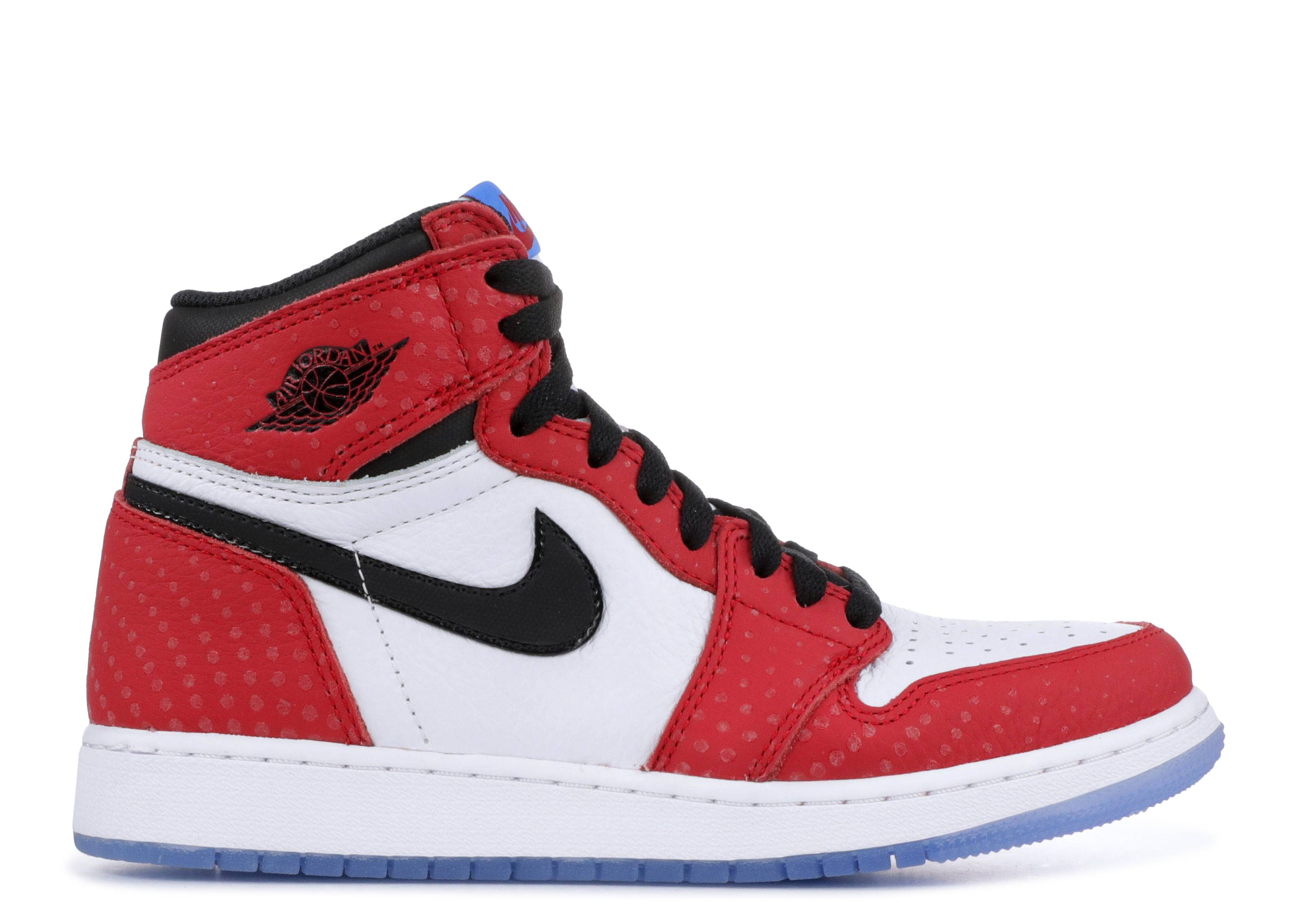 "air jordan 1 ret hi og (gs) ""spiderman"""