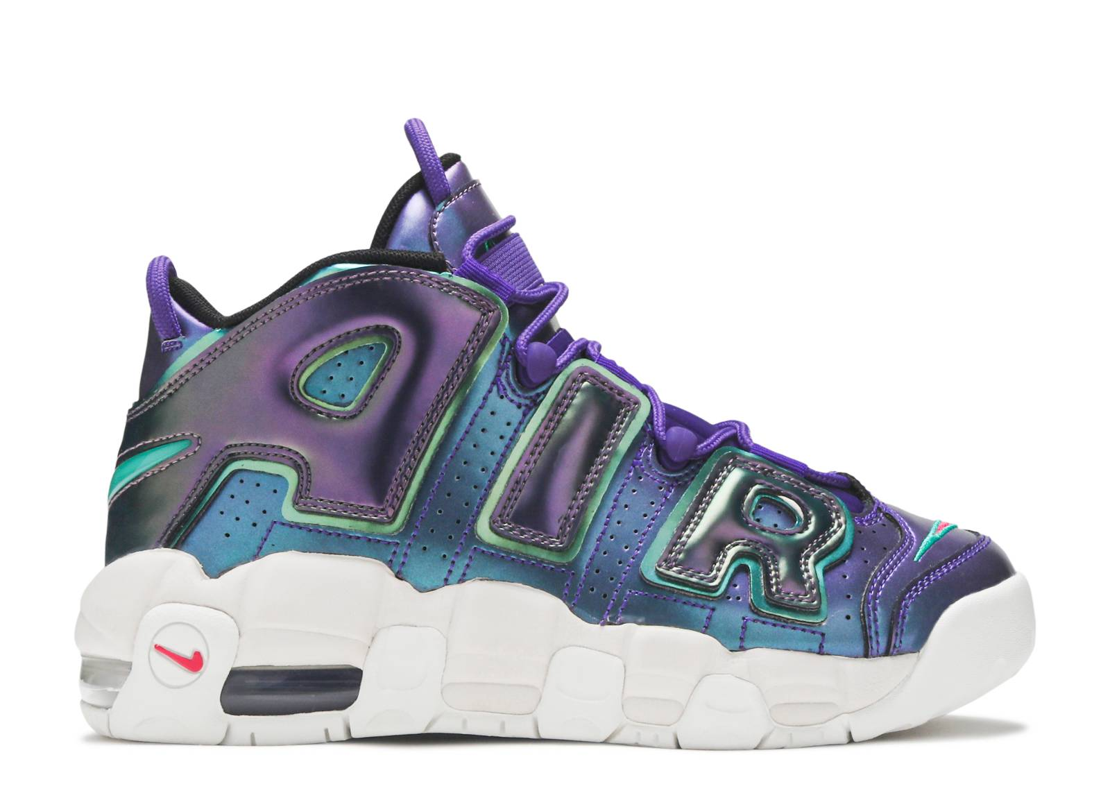 "nike air more uptempo se (gs) ""Purple Iridescent"""