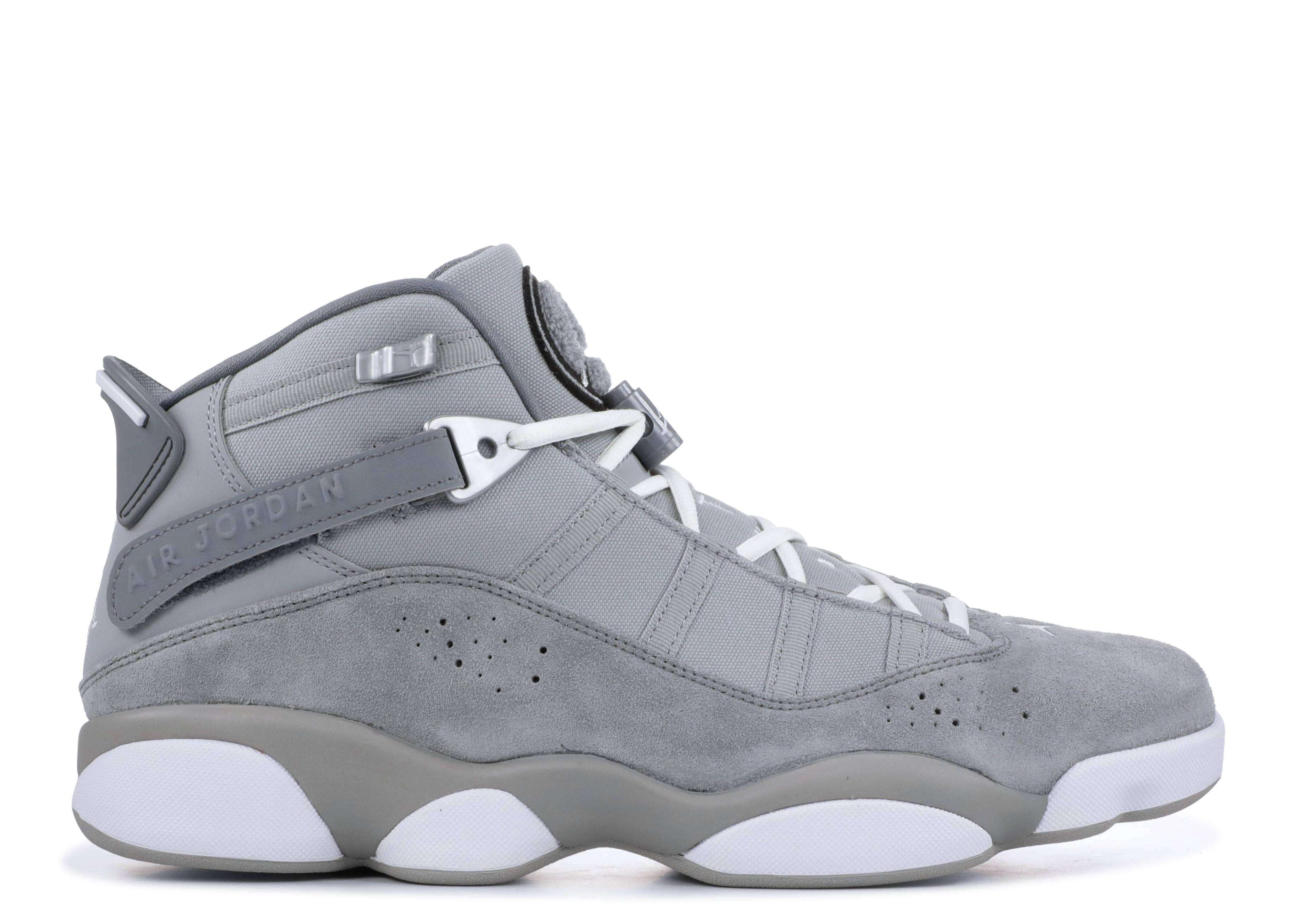 """jordan 6 rings """"cool grey"""""""