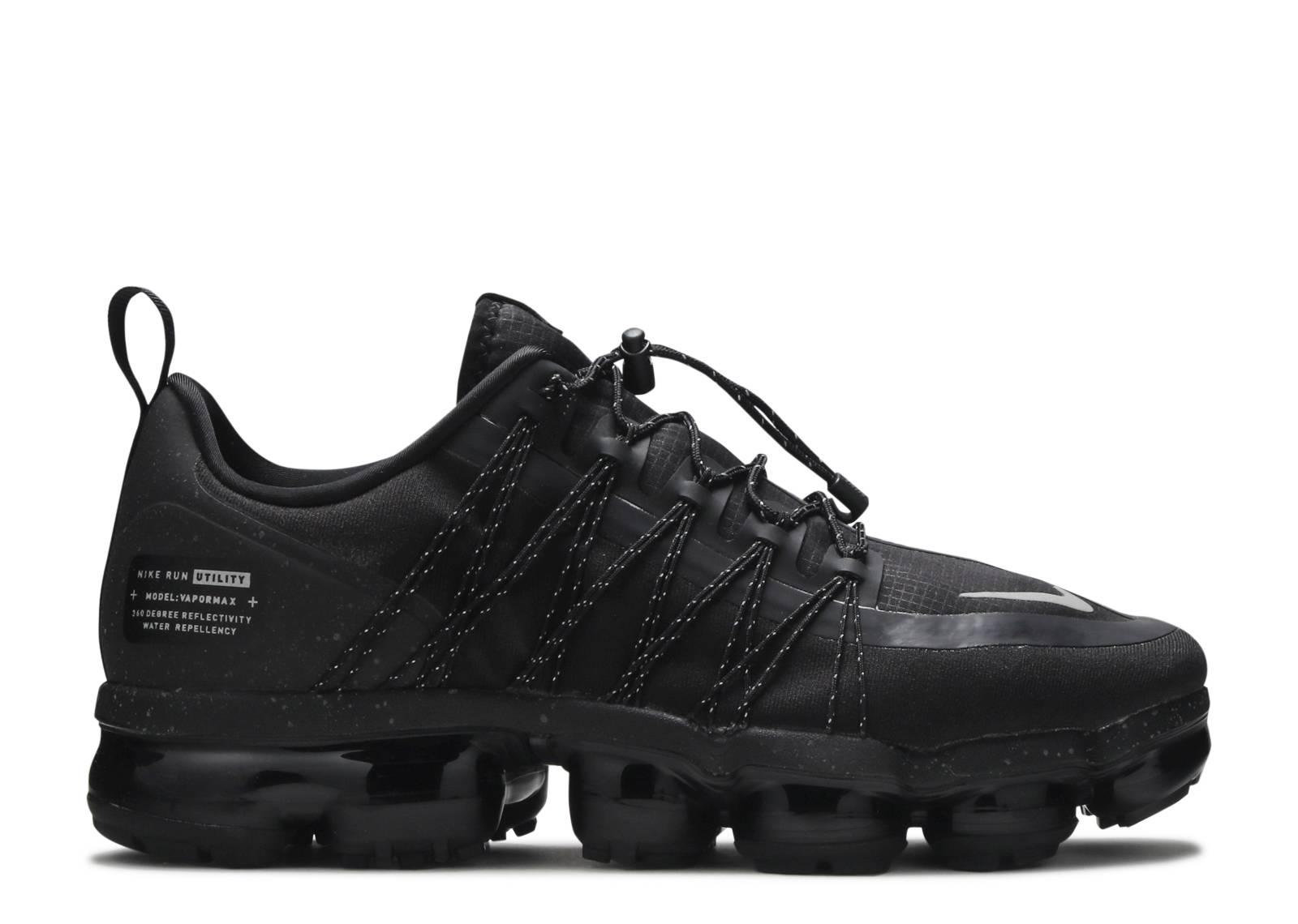c27c6401aa Nike Air Vapormax Run Utility - Nike - aq8810 003 - black/reflect silver -  black   Flight Club