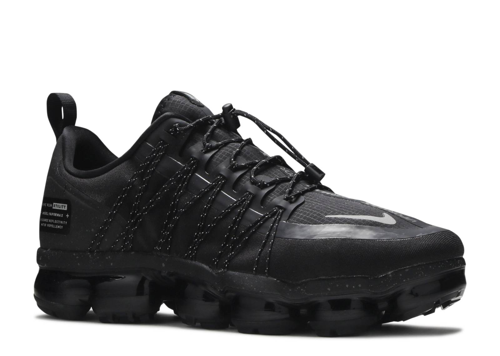 bd0ce7062a97 Nike Air Vapormax Run Utility - Nike - aq8810 003 - black reflect silver -  black