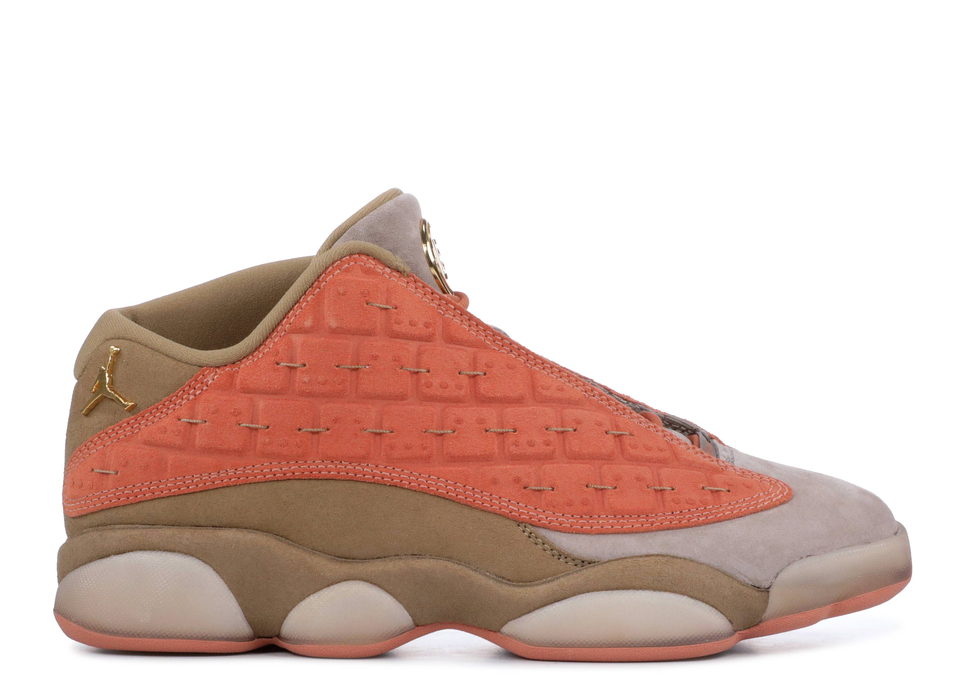 "CLOT x Air Jordan 13 Low ""Terracotta"""