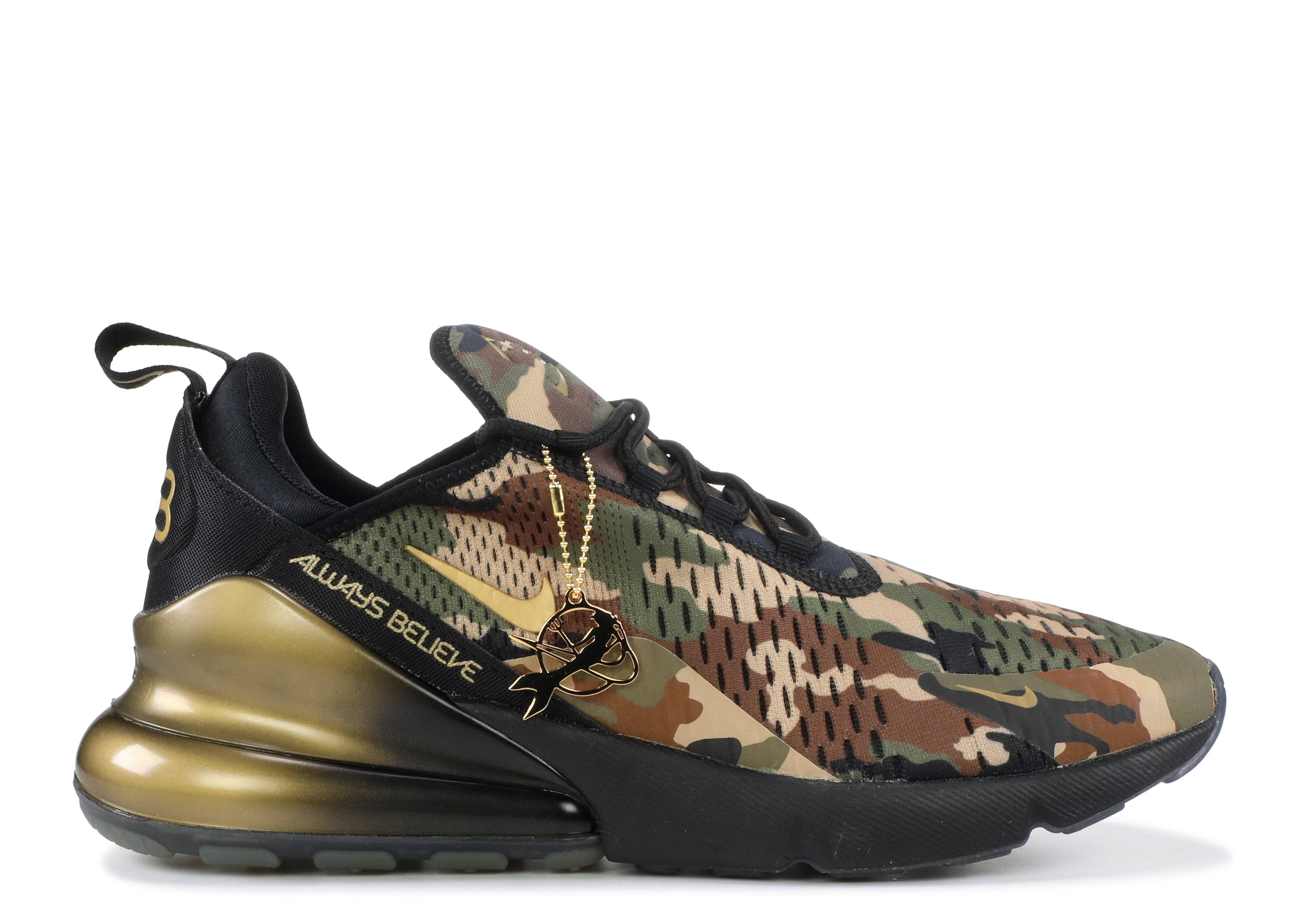 lace up in new concept really comfortable Nike Air Max 270 DB - Nike - BV7112 001 - black/metallic ...