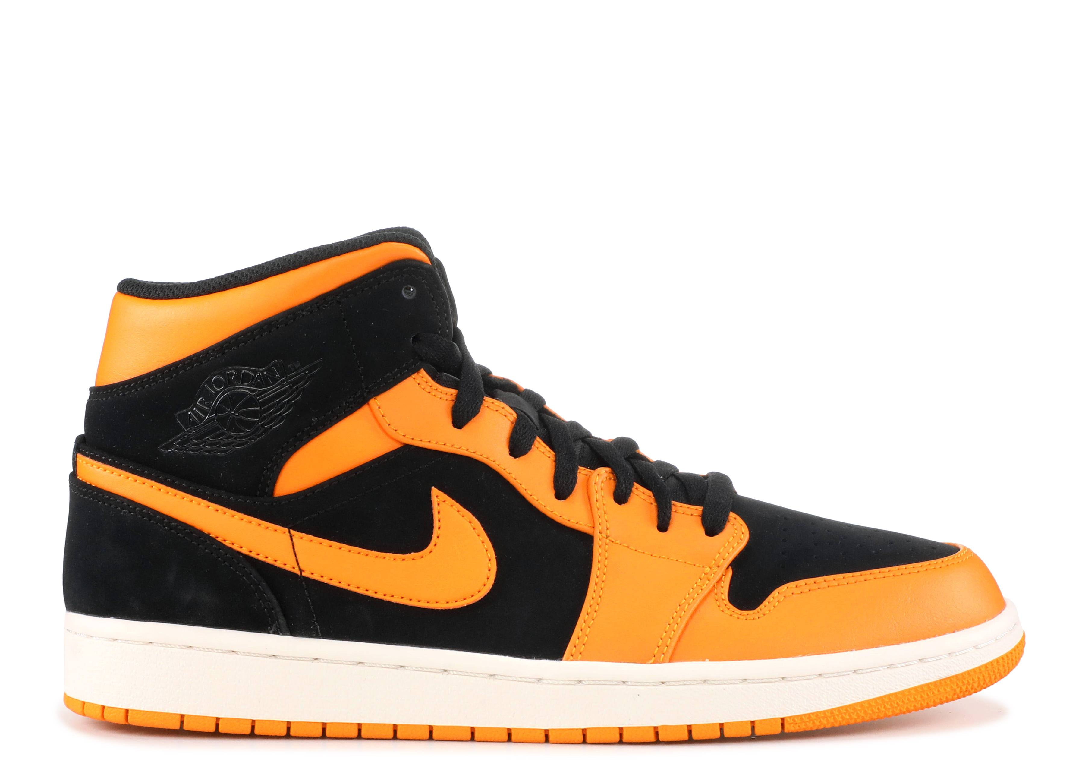 air jordan 1 noir et orange