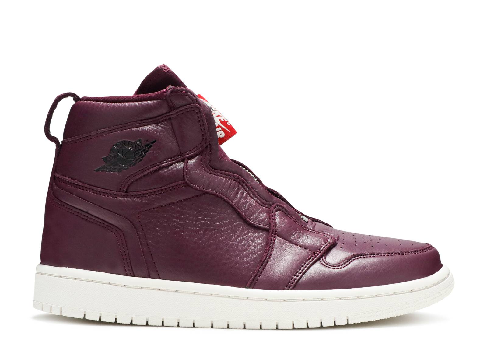 "wmns air jordan 1 hi zip prem ""Bordeaux"""