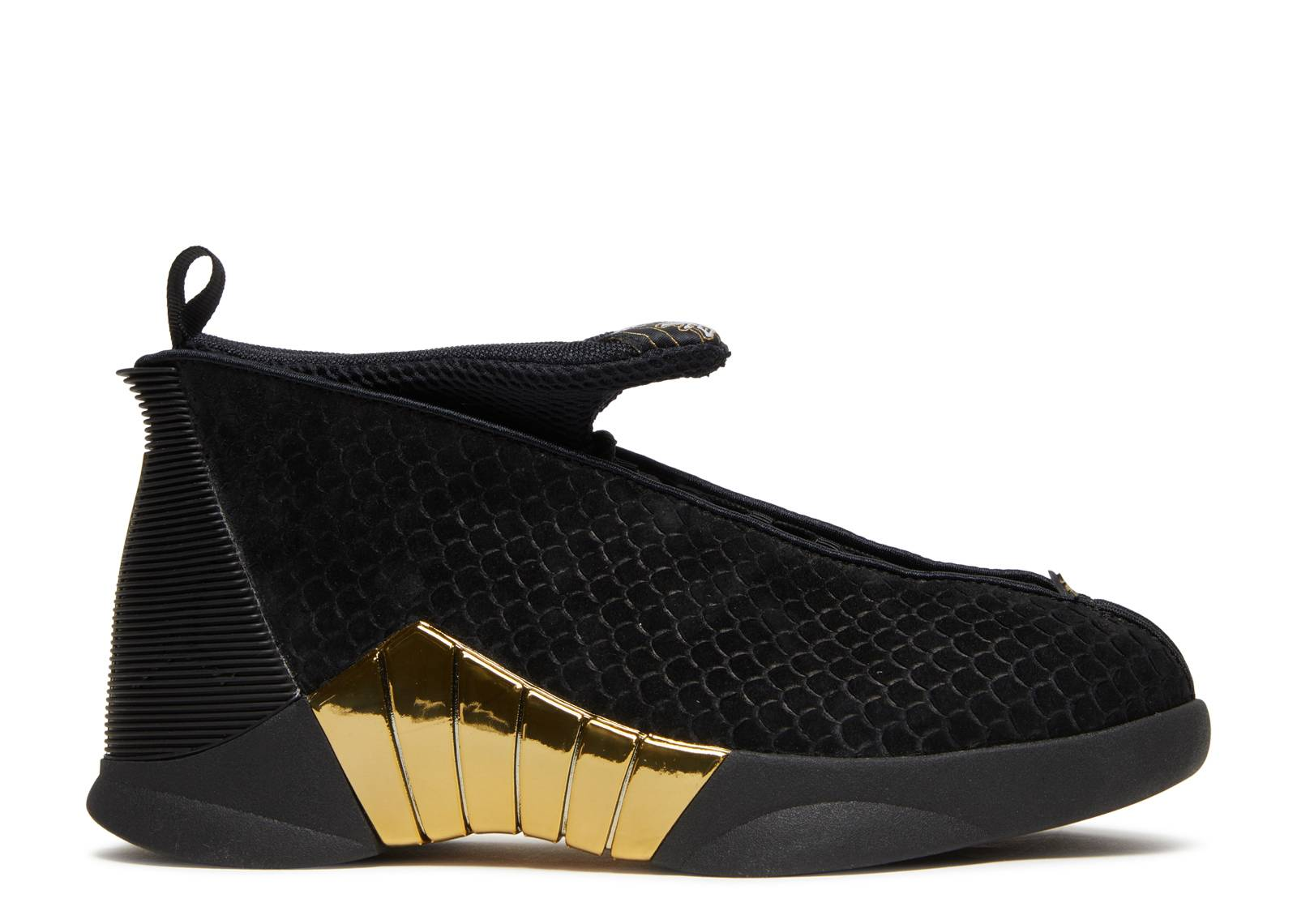 9e5320a80 Air Jordan 15 Retro DB (gs) - Air Jordan - bv7110 017 - black white ...