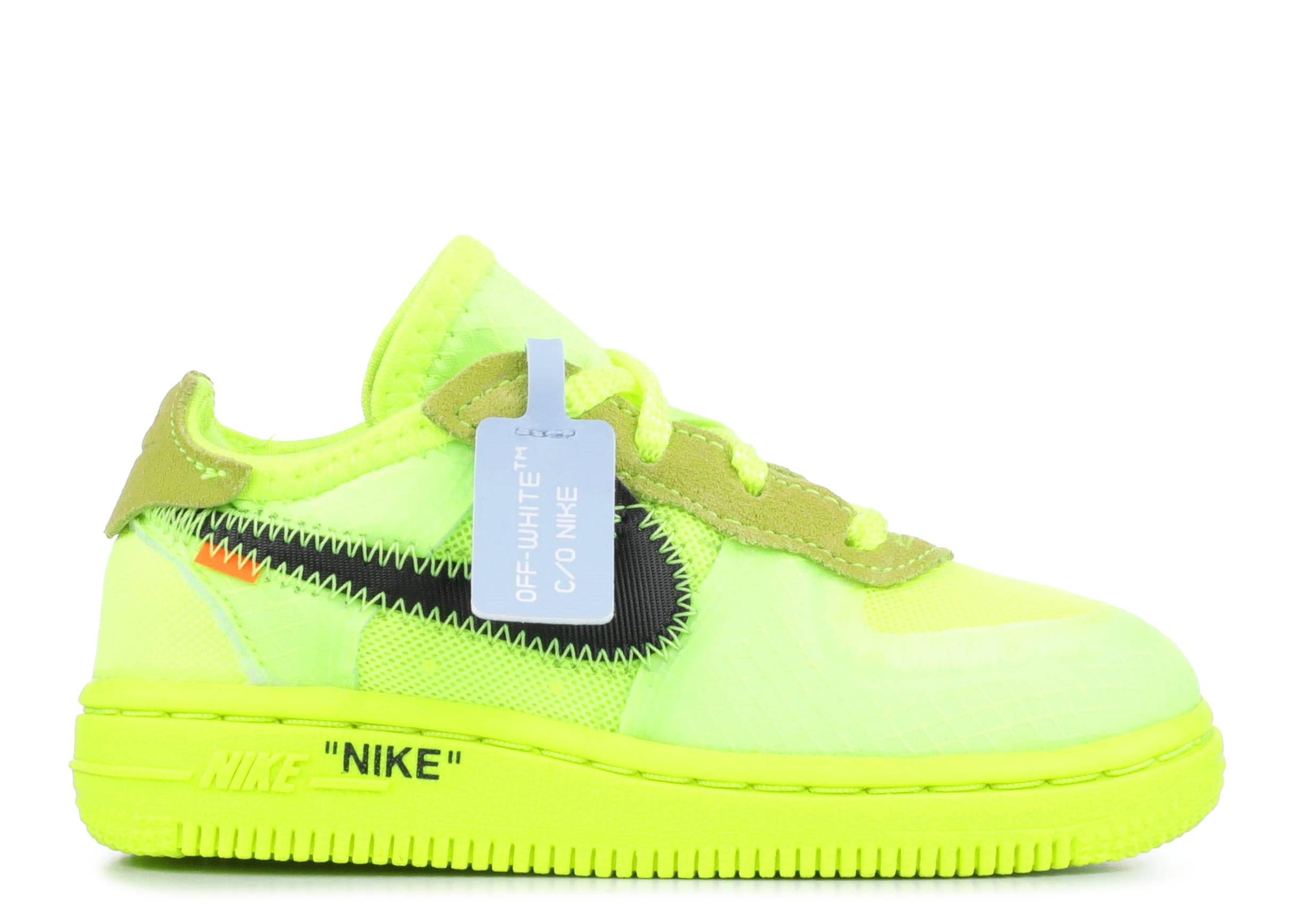"the 10: nike force 1 (TD) ""Volt """