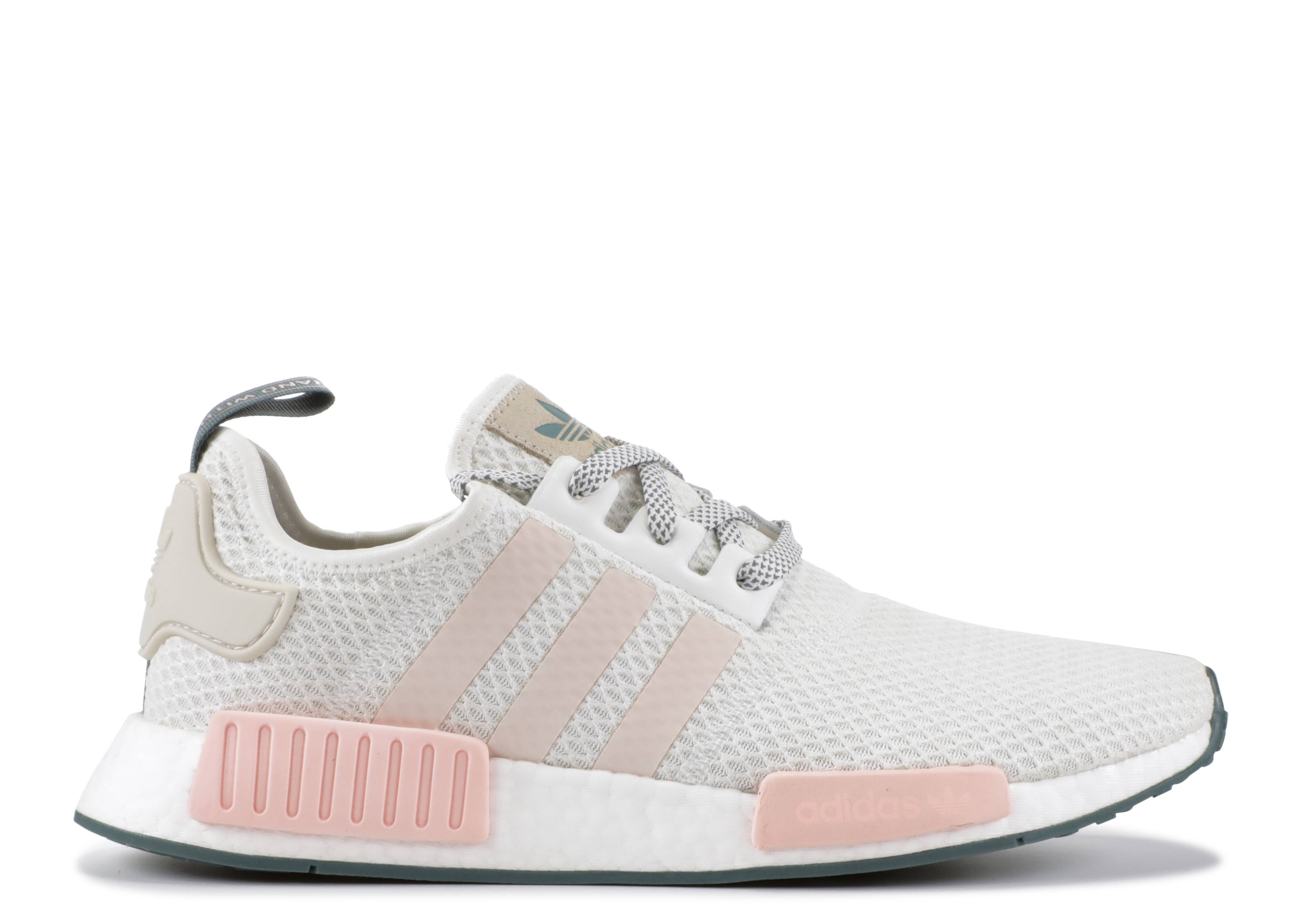 7637657c8 NMD R1 W - Adidas - d97232 - cloud white talc icey pink