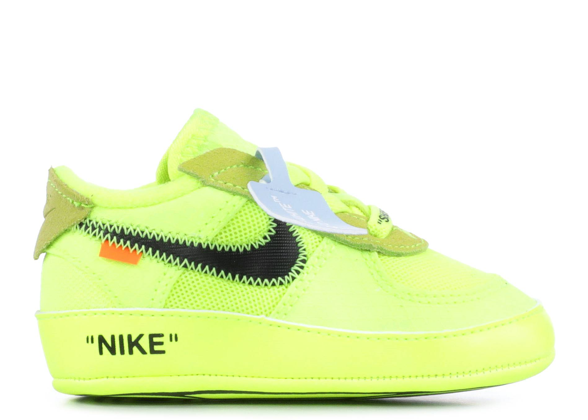"Air Force 1 Low Off-White Infant ""Volt"""