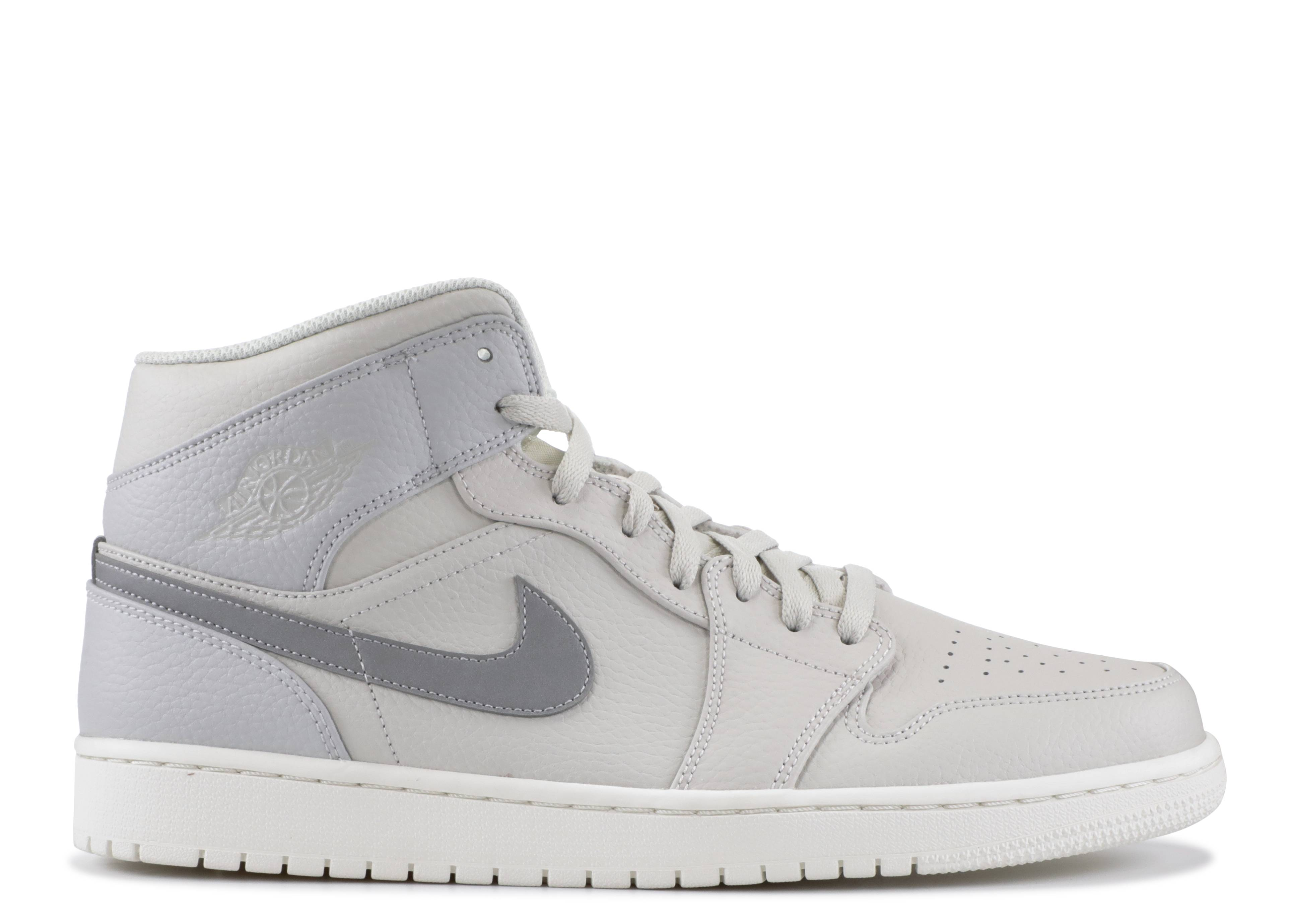 "air jordan 1 mid se ""Grey Fog"""