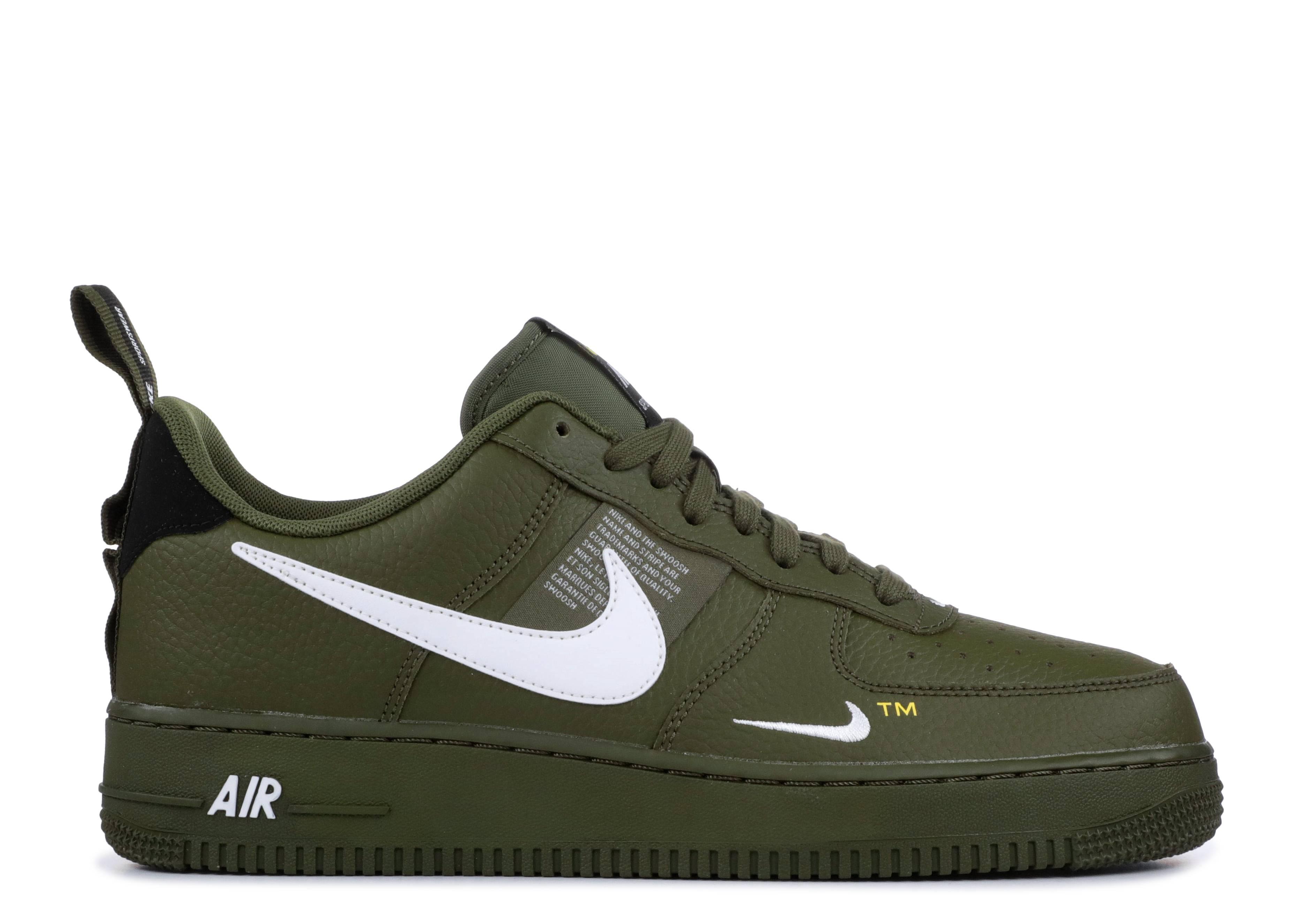 Air Force 1 '07 LV8 'Overbranding' - Nike - AJ7747 300 - olive ...