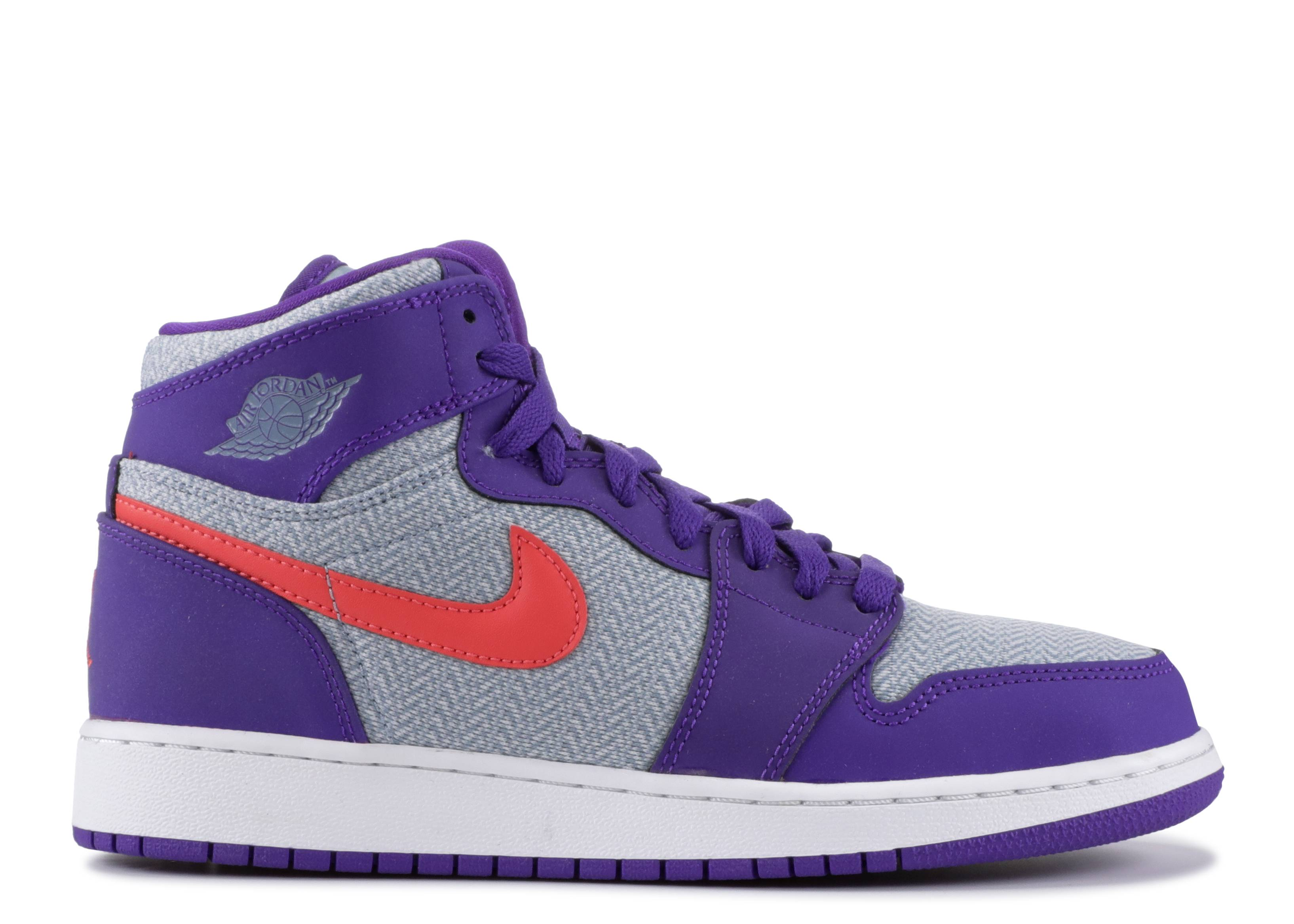 "Air Jordan 1 Retro High GG ""Fierce Purple"""