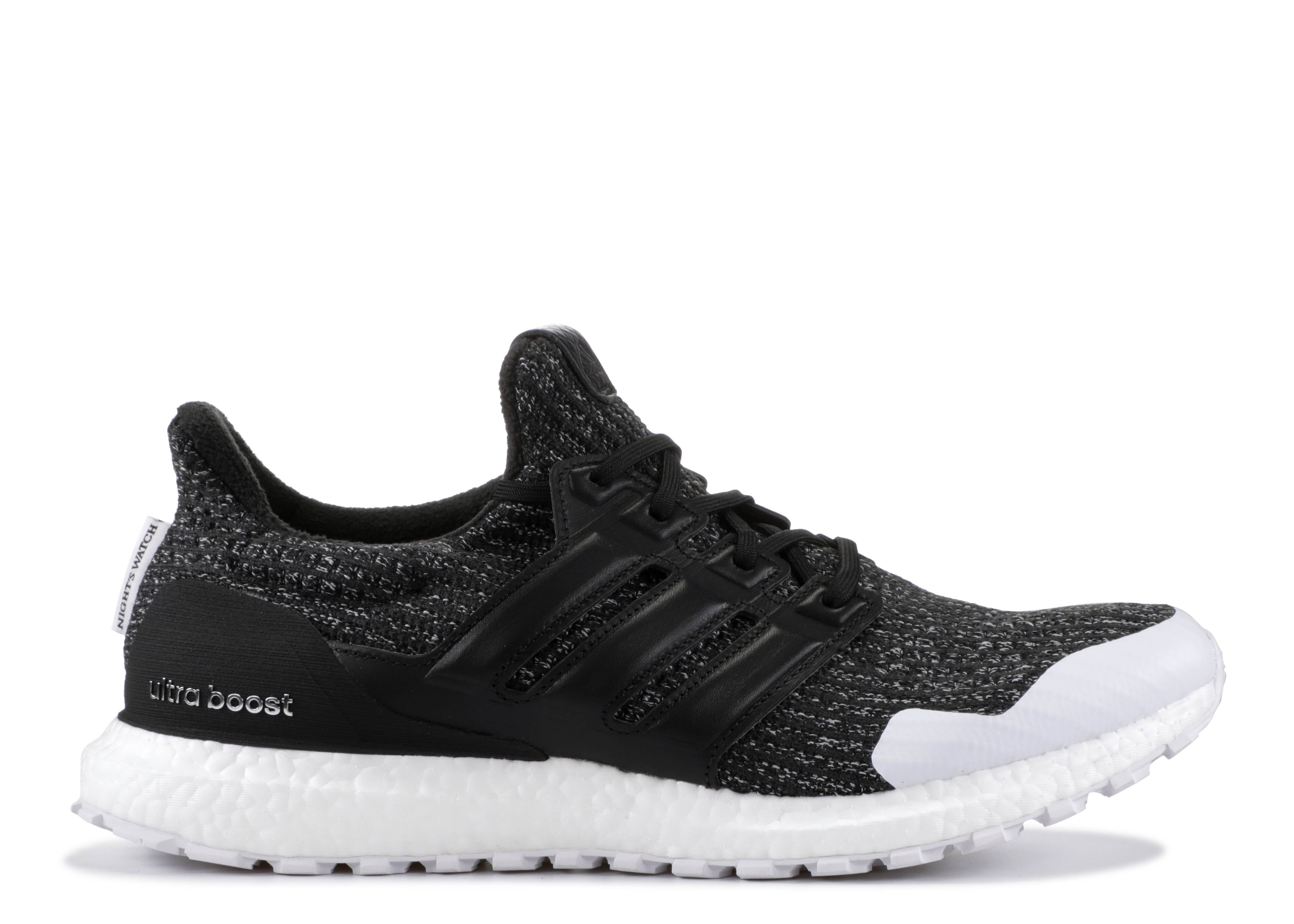 Game of Thrones x adidas Ultra Boost Night's Watch Dropping
