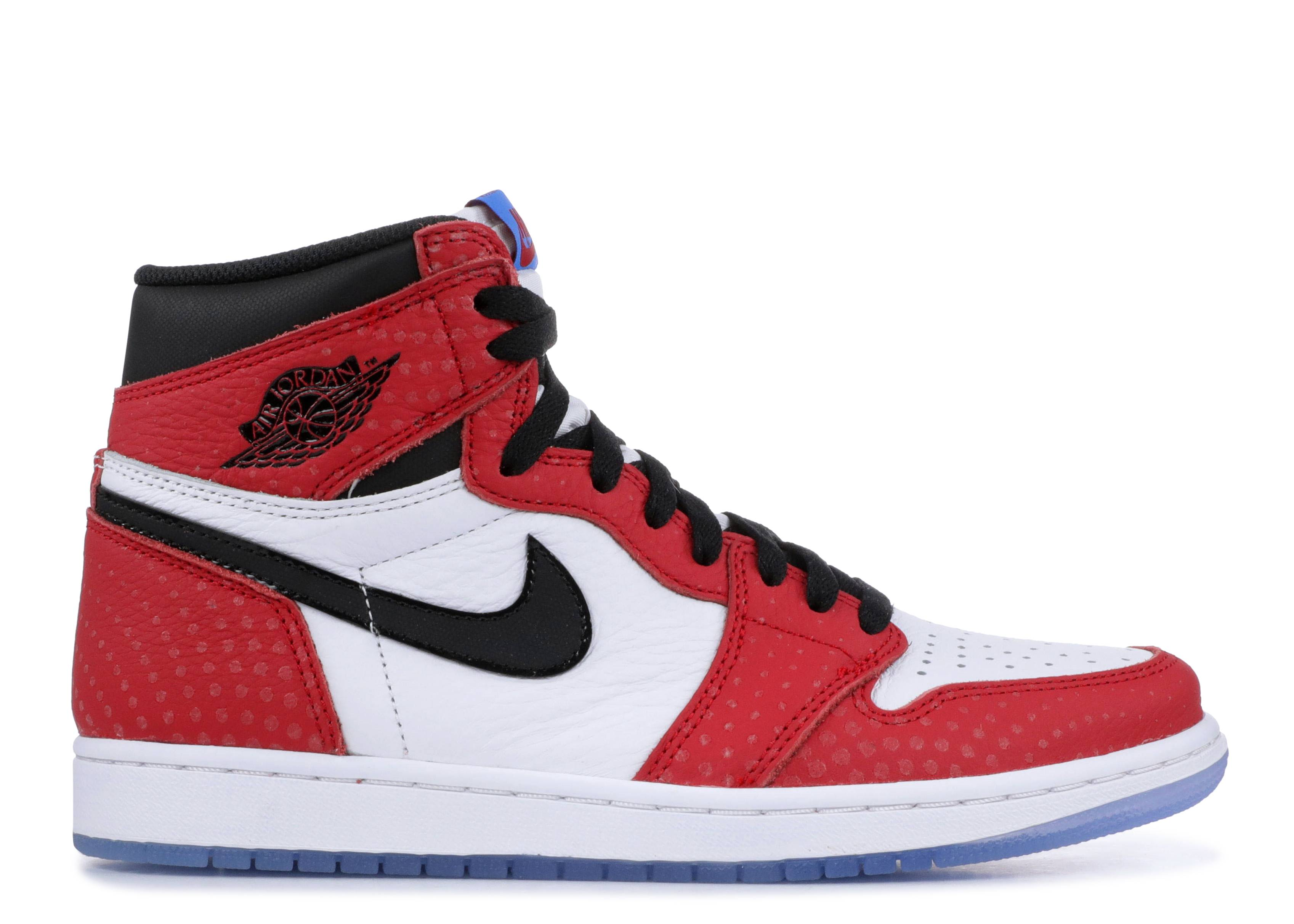 "air jordan 1 retro high og ""spiderman special edition"""