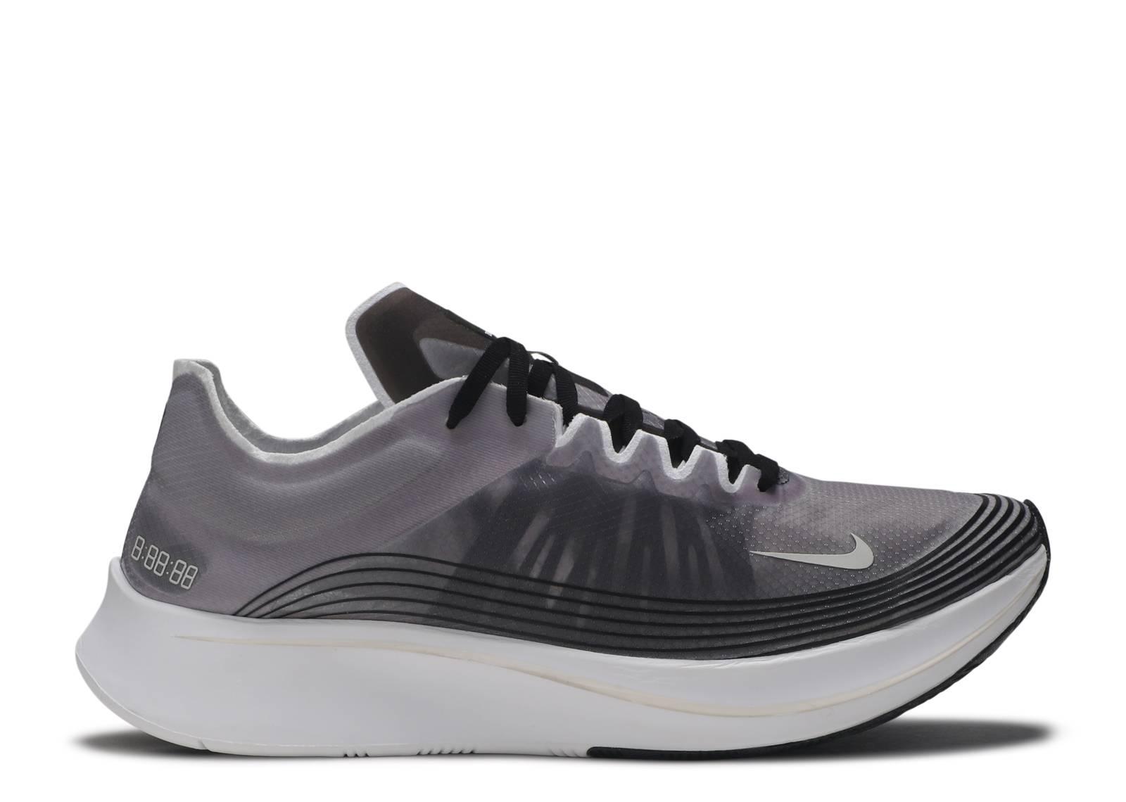 748e8fc363a Nike Zoom Fly Sp - Nike - aj9282 001 - black light bone-white ...