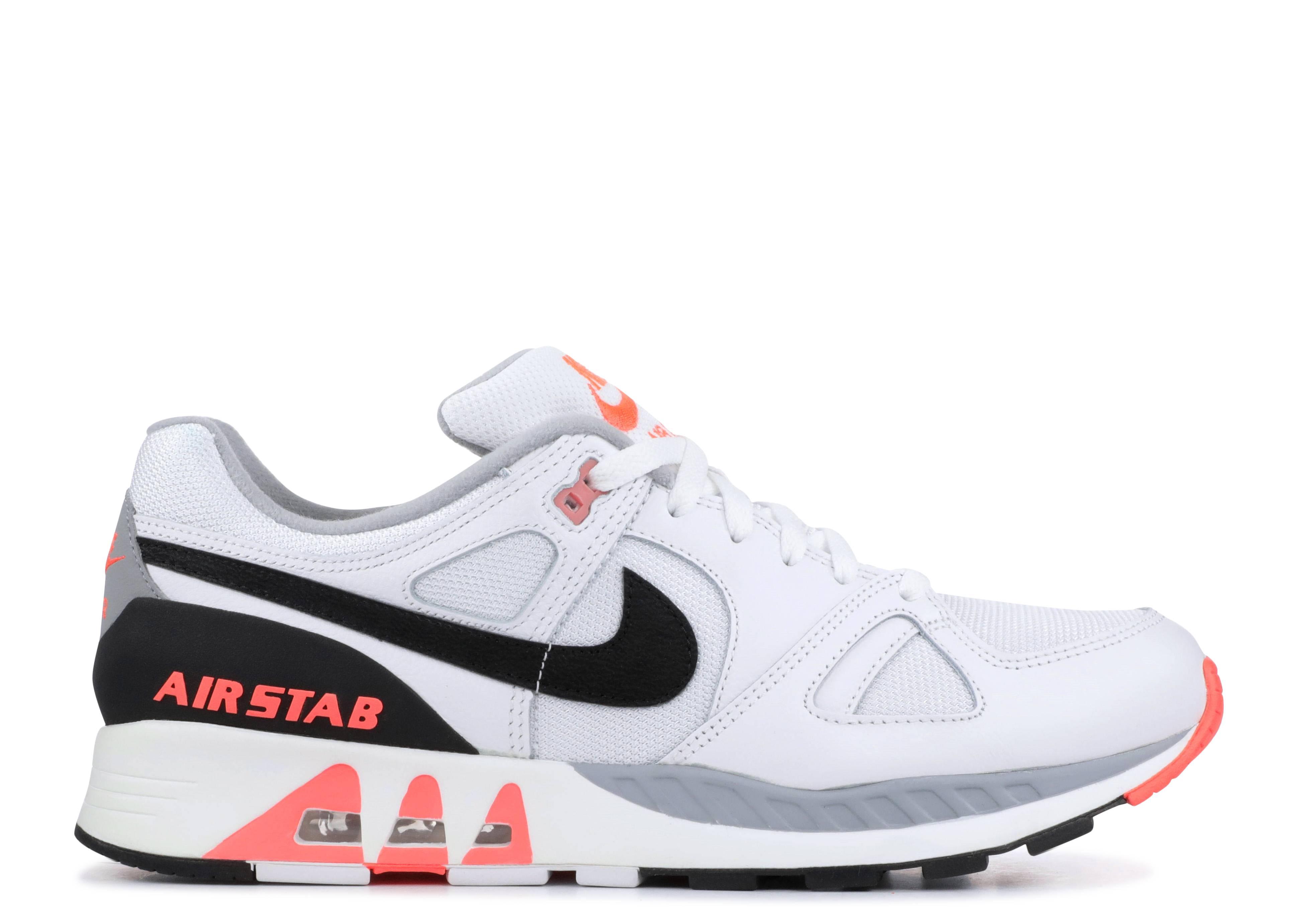 on sale 2dace 03455 Nike Air Stab - Nike - 312451 101 - white  black hot lava   Flight Club